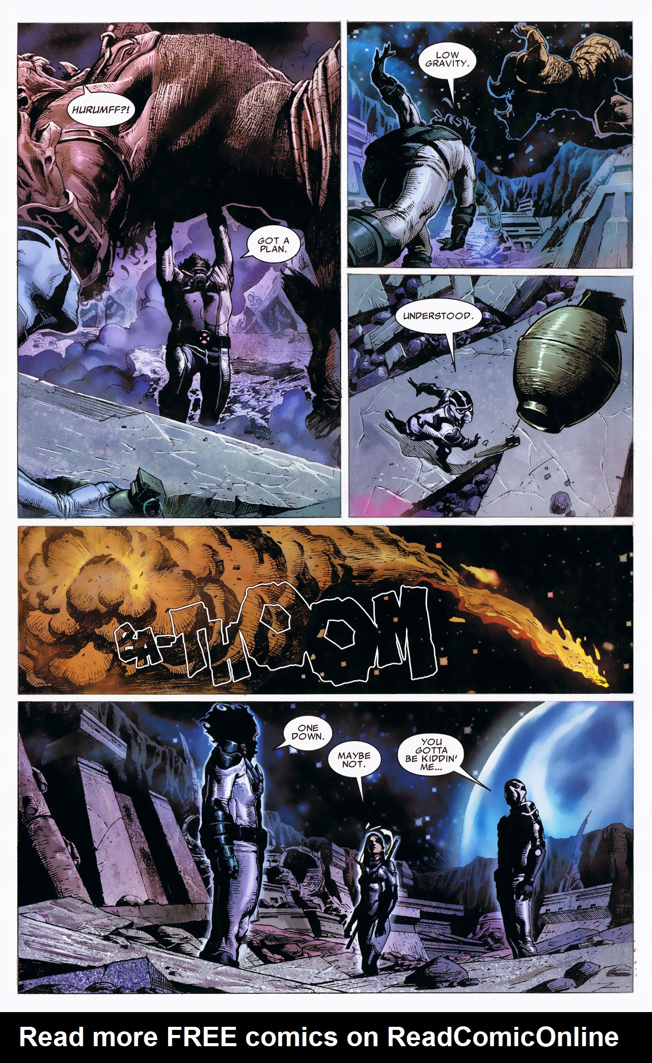 Read online Uncanny X-Force: The Apocalypse Solution comic -  Issue # Full - 48