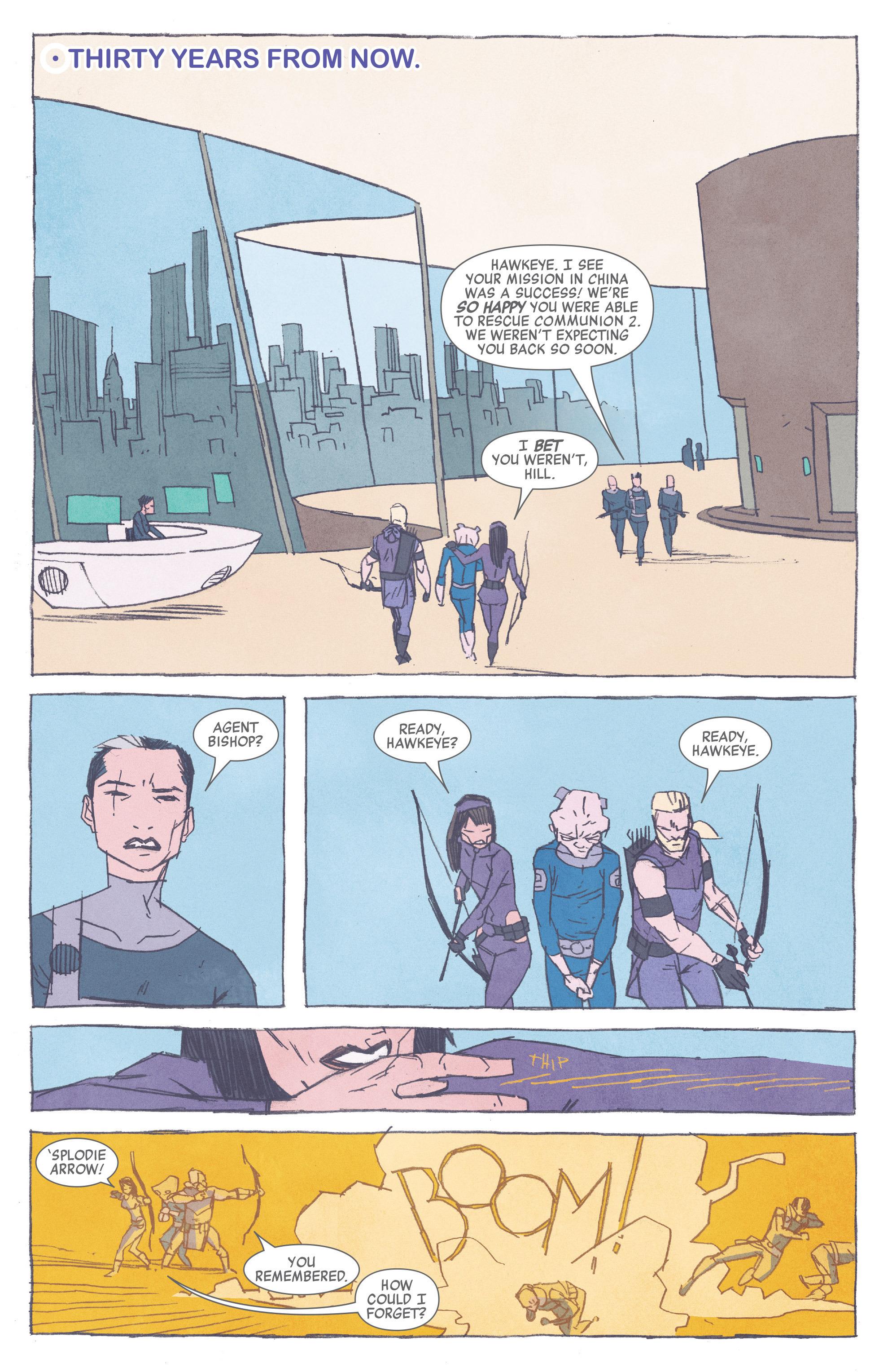 Read online All-New Hawkeye (2016) comic -  Issue #3 - 3