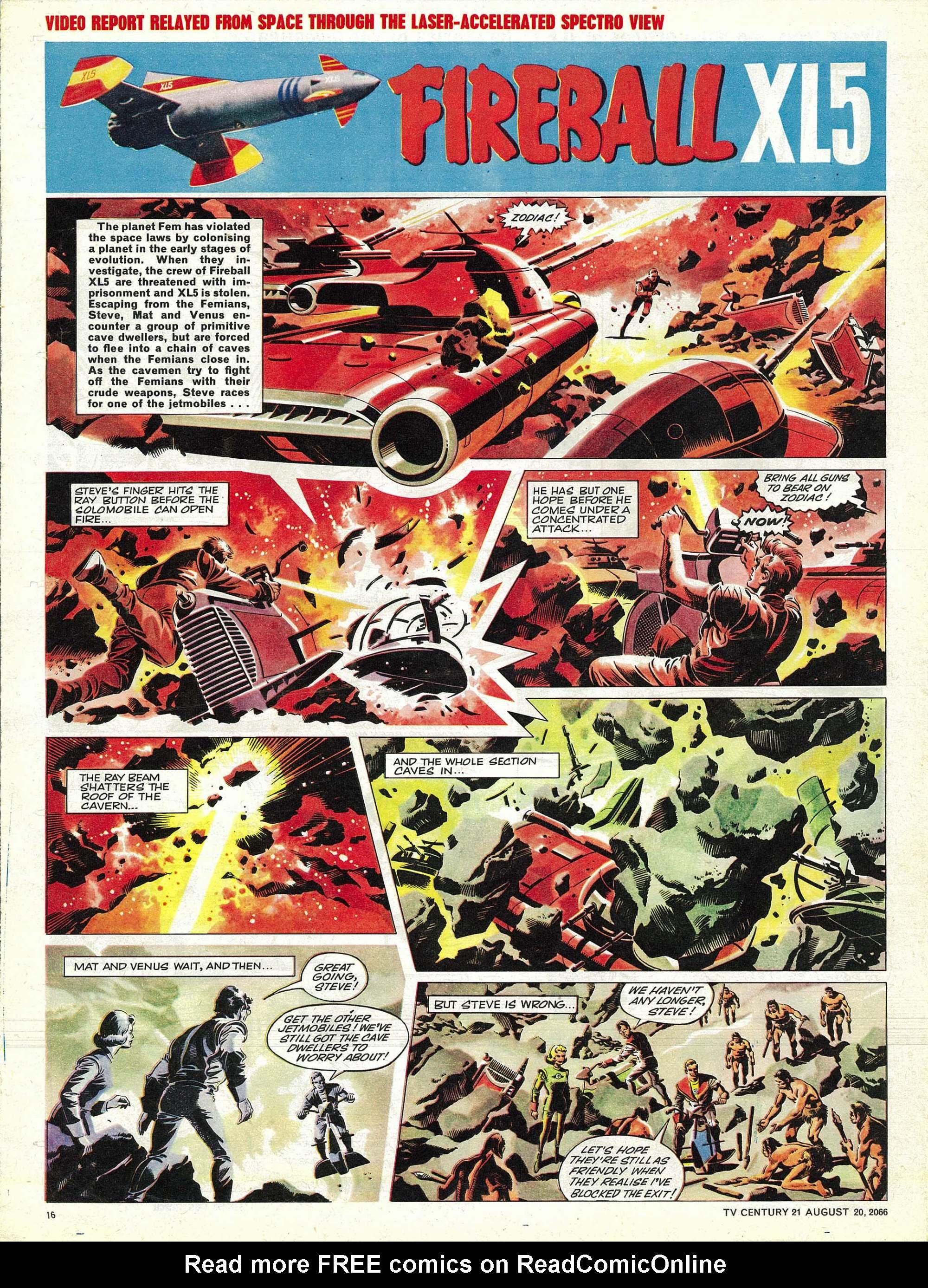 Read online TV Century 21 (TV 21) comic -  Issue #83 - 15