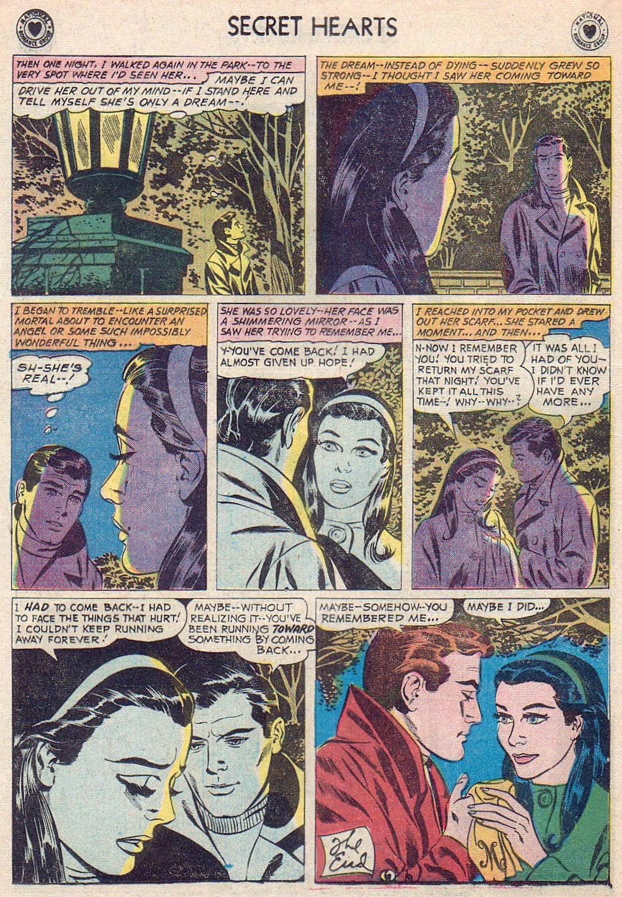 Read online Secret Hearts comic -  Issue #61 - 8