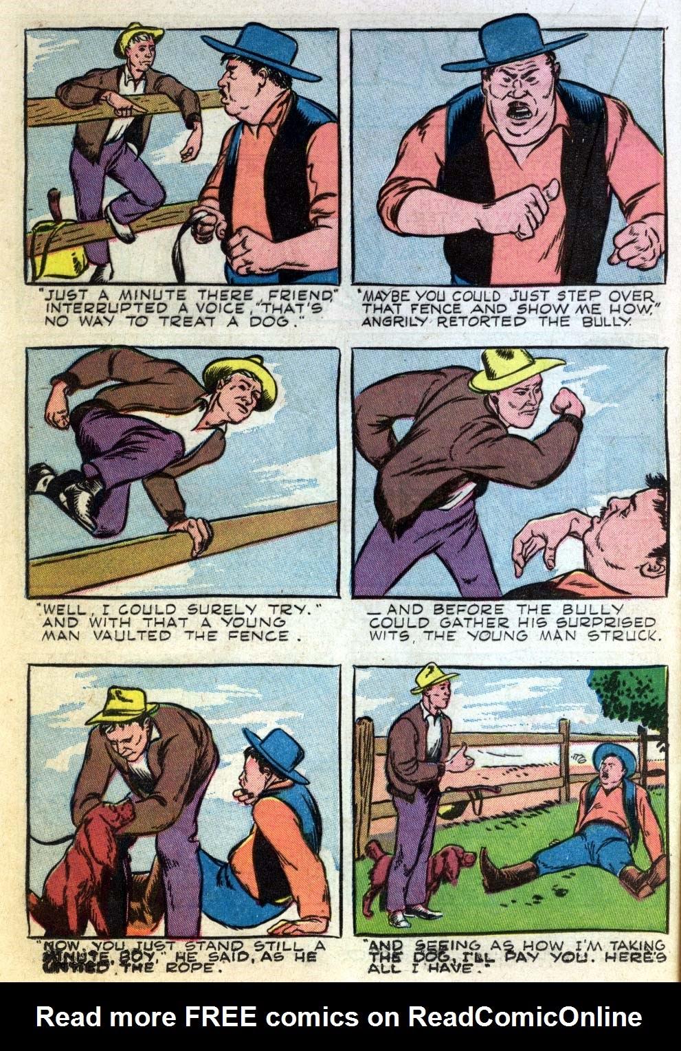 Read online Animal Comics comic -  Issue #22 - 24