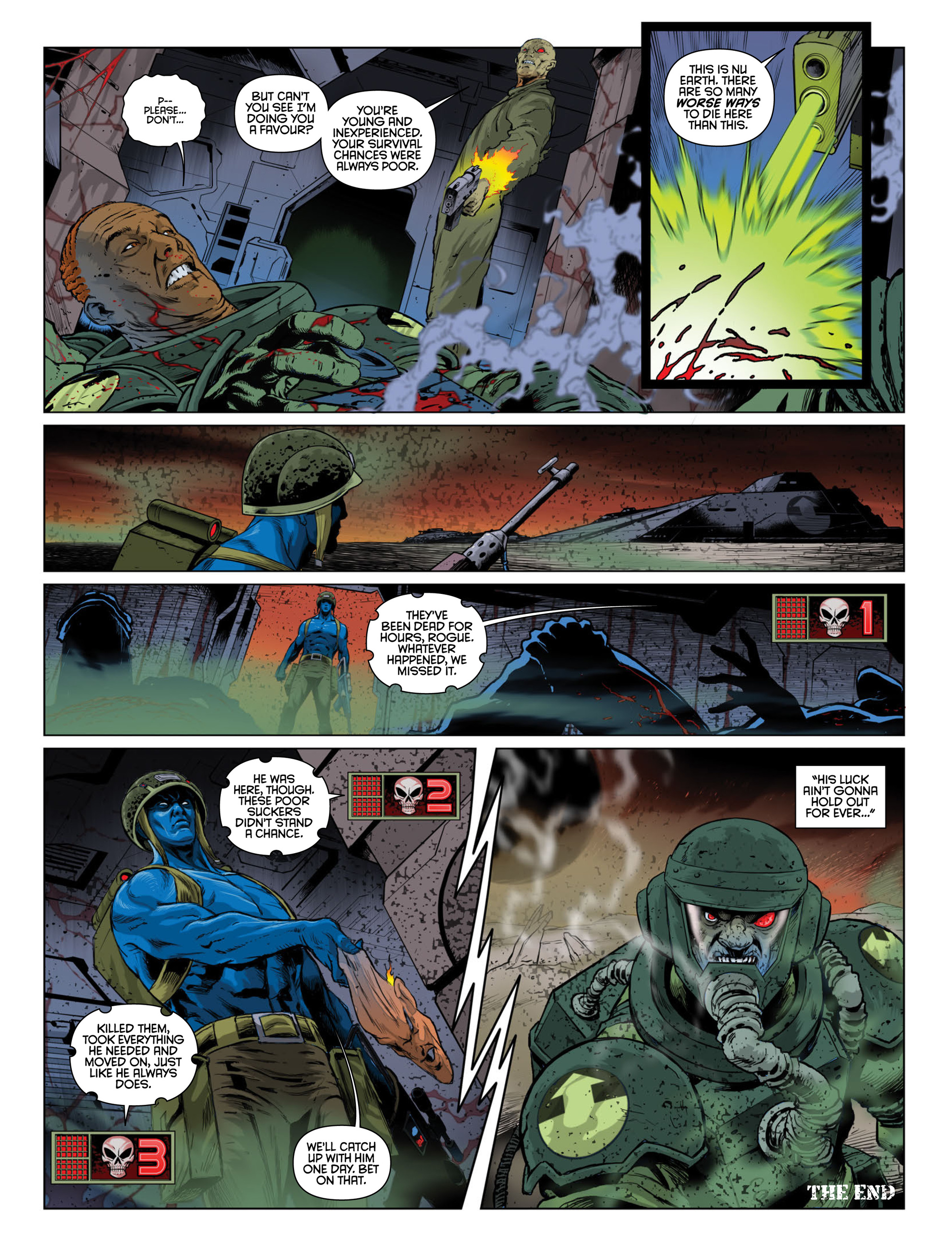 Read online 2000 AD comic -  Issue #2000 - 30