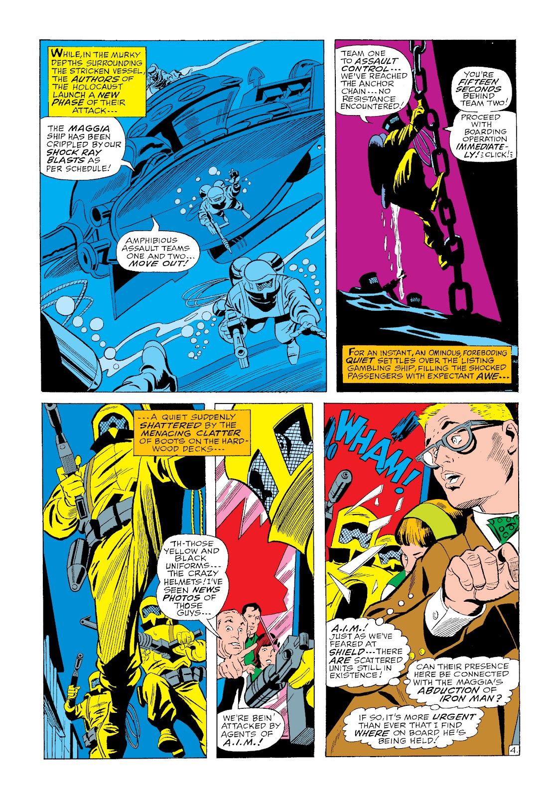 Read online Marvel Masterworks: The Invincible Iron Man comic -  Issue # TPB 4 (Part 3) - 16