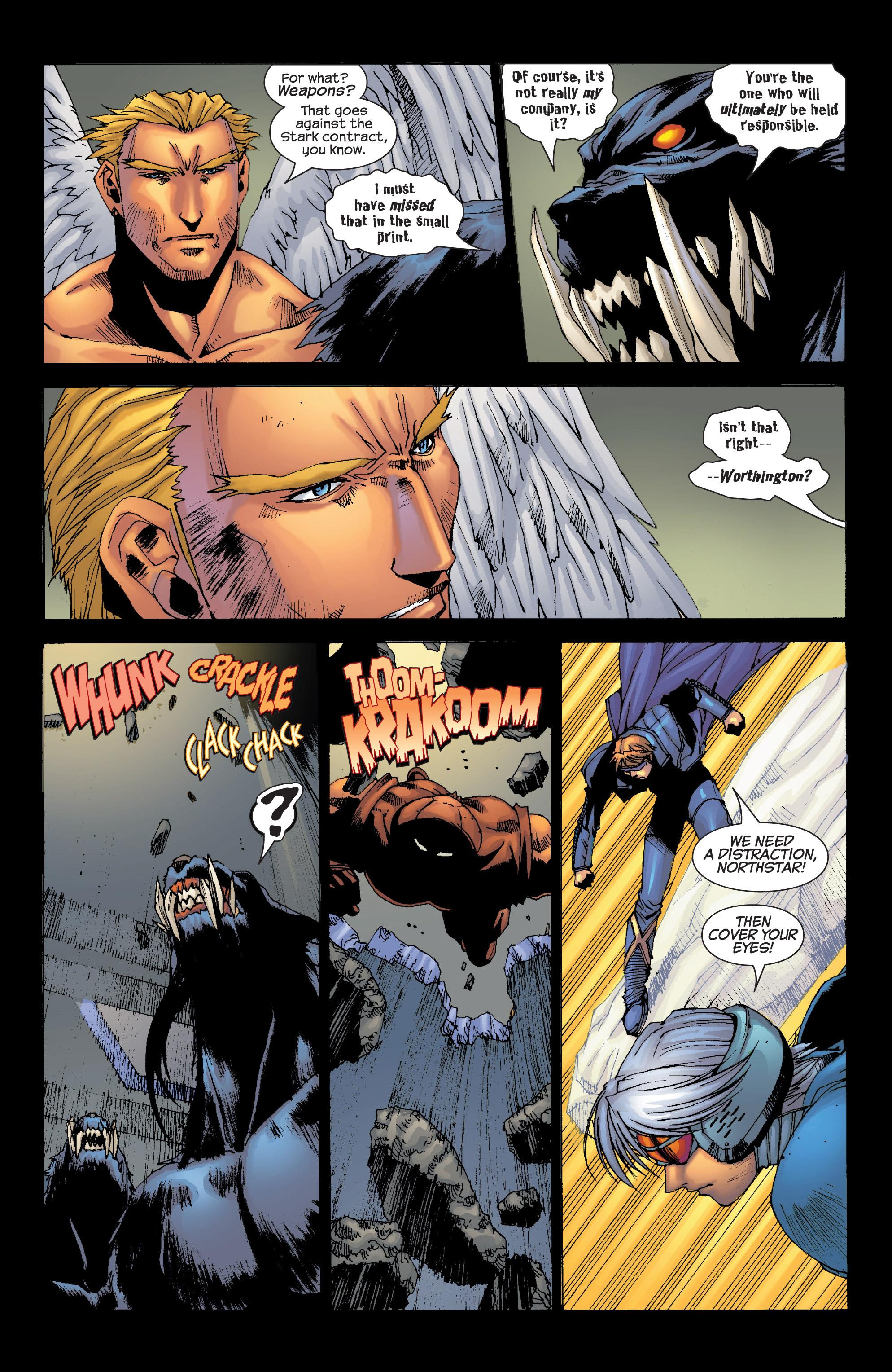 Read online Uncanny X-Men (1963) comic -  Issue #420 - 17