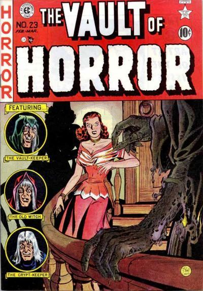 The Vault of Horror (1950) issue 23 - Page 1