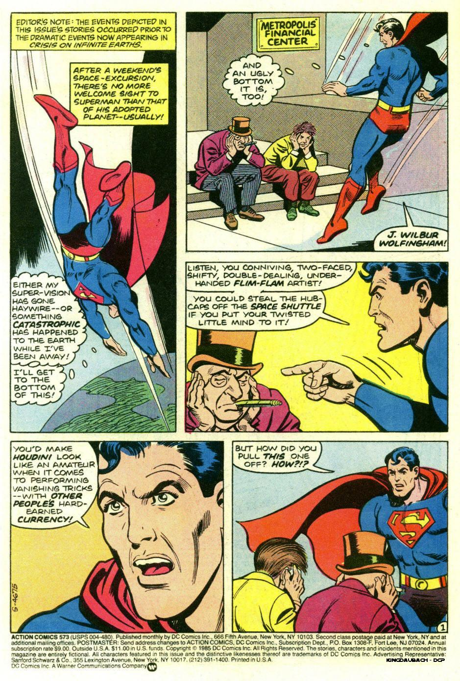 Read online Action Comics (1938) comic -  Issue #573 - 3