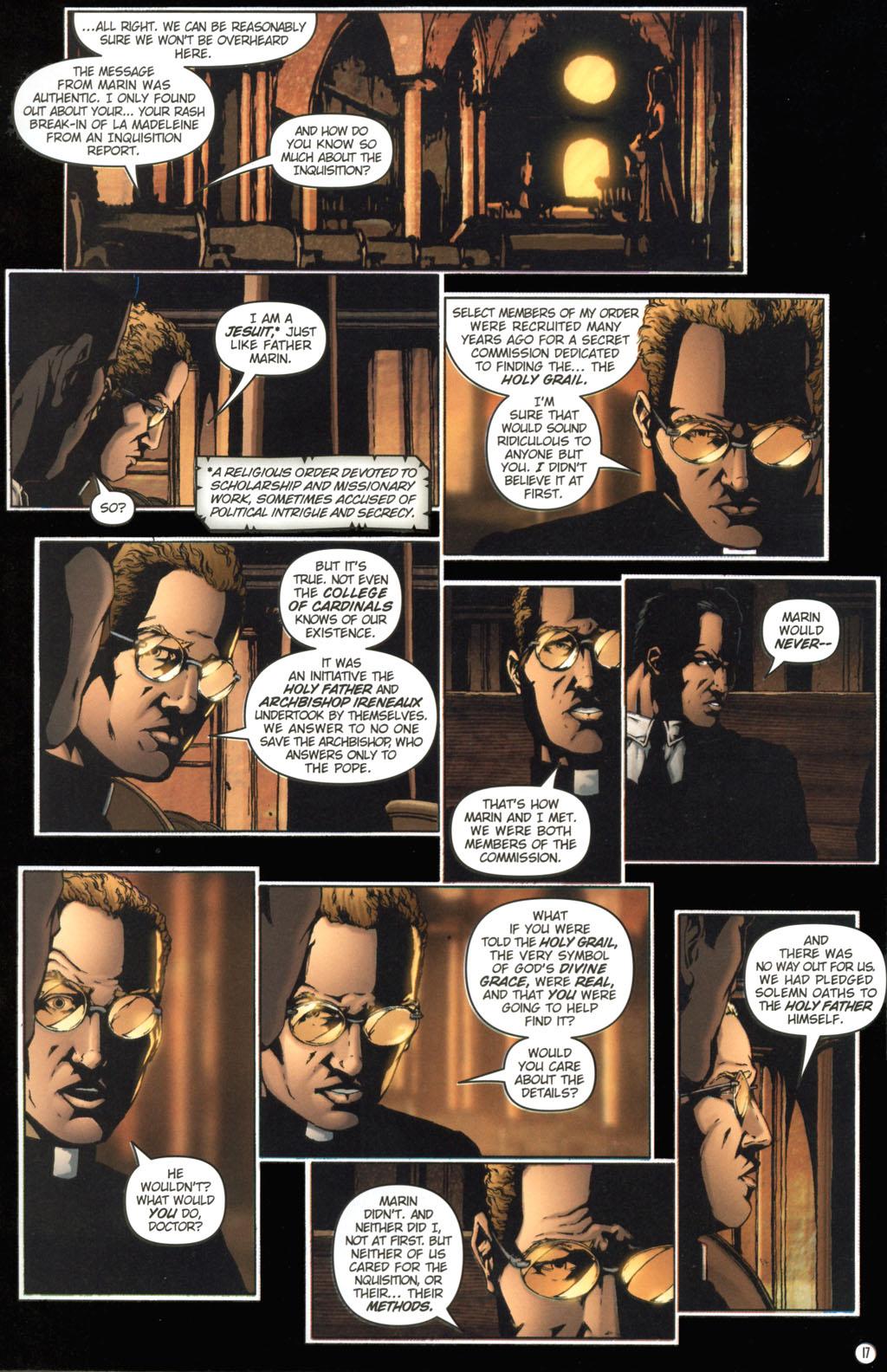 Read online Rex Mundi comic -  Issue #11 - 21