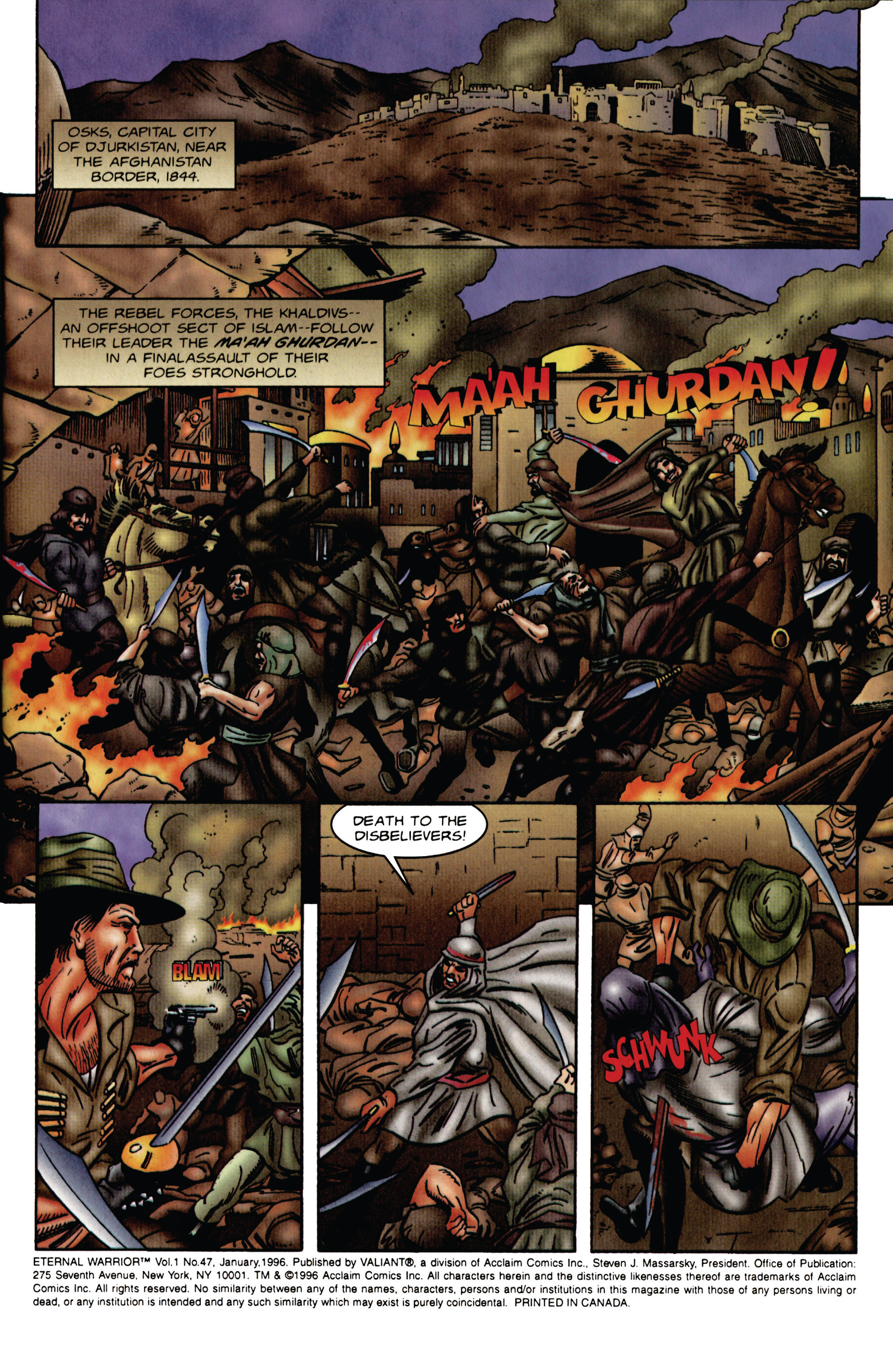 Read online Eternal Warrior (1992) comic -  Issue #47 - 2