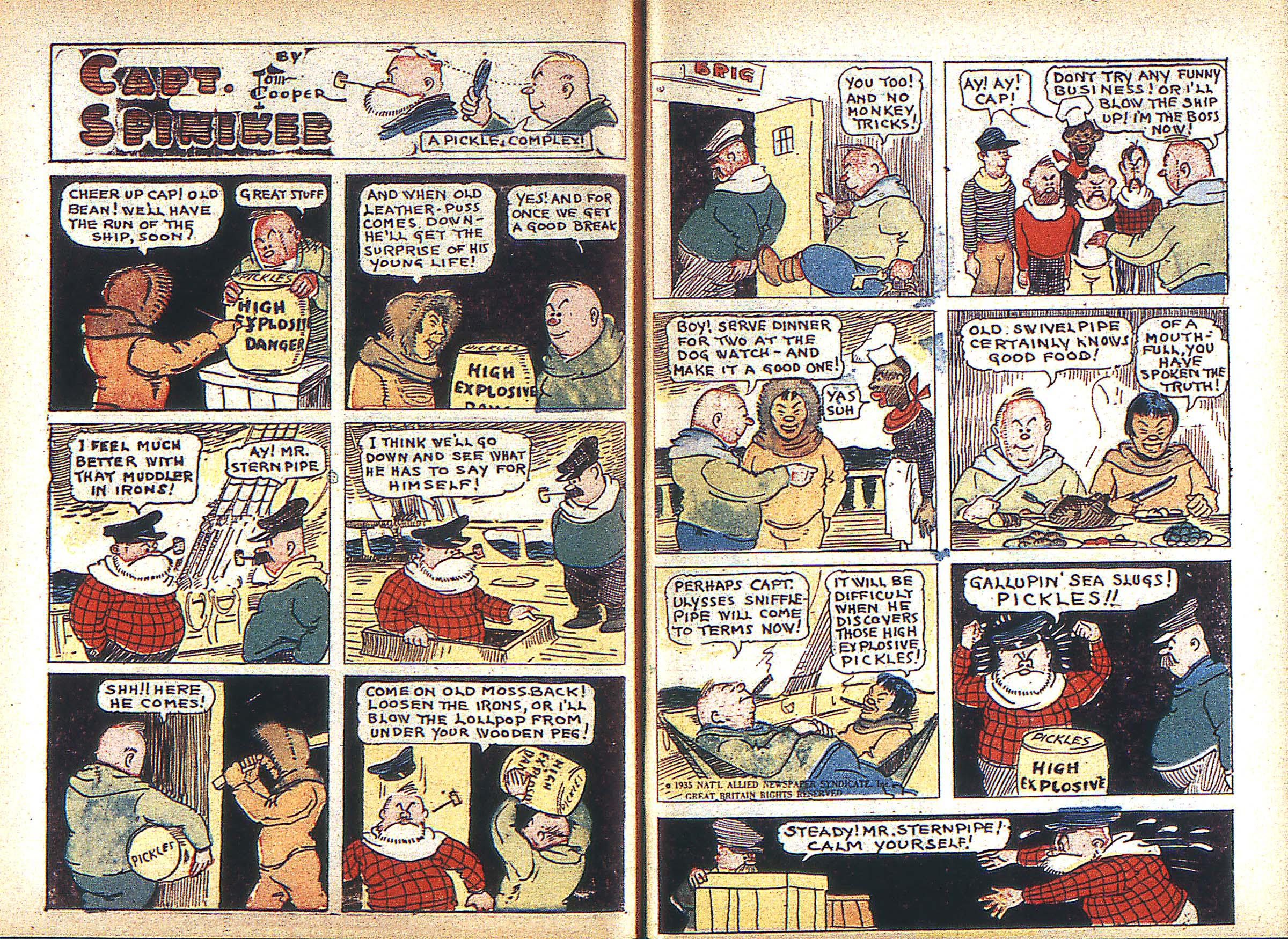Read online Adventure Comics (1938) comic -  Issue #3 - 38