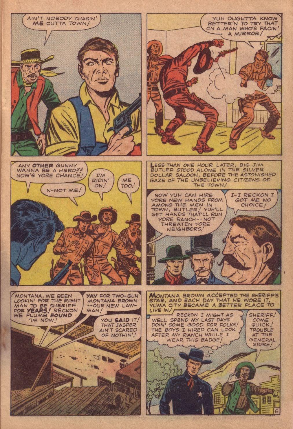 Gunsmoke Western issue 67 - Page 17