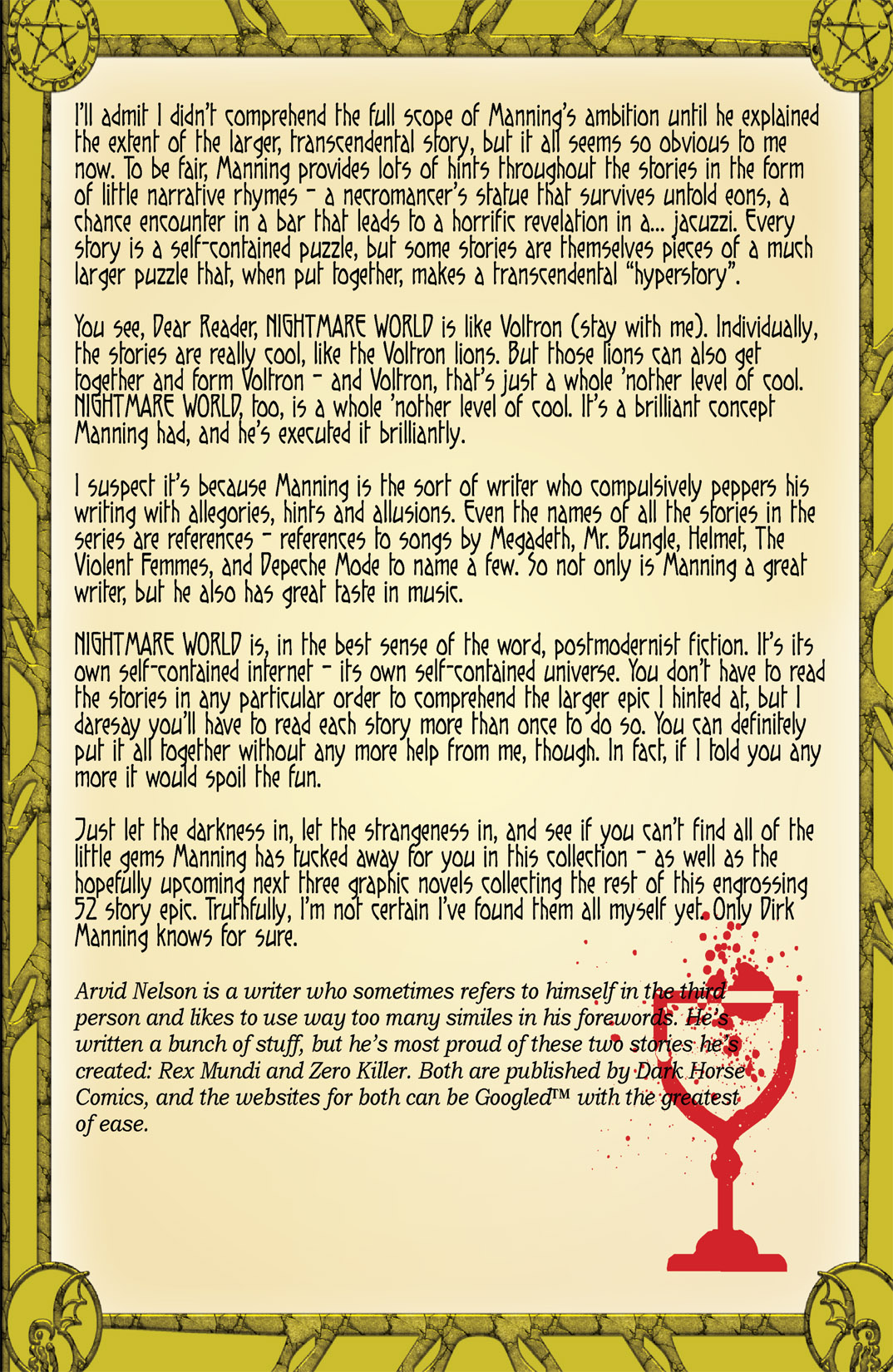 Read online Nightmare World comic -  Issue # Vol. 1 Thirteen Tales of Terror - 6