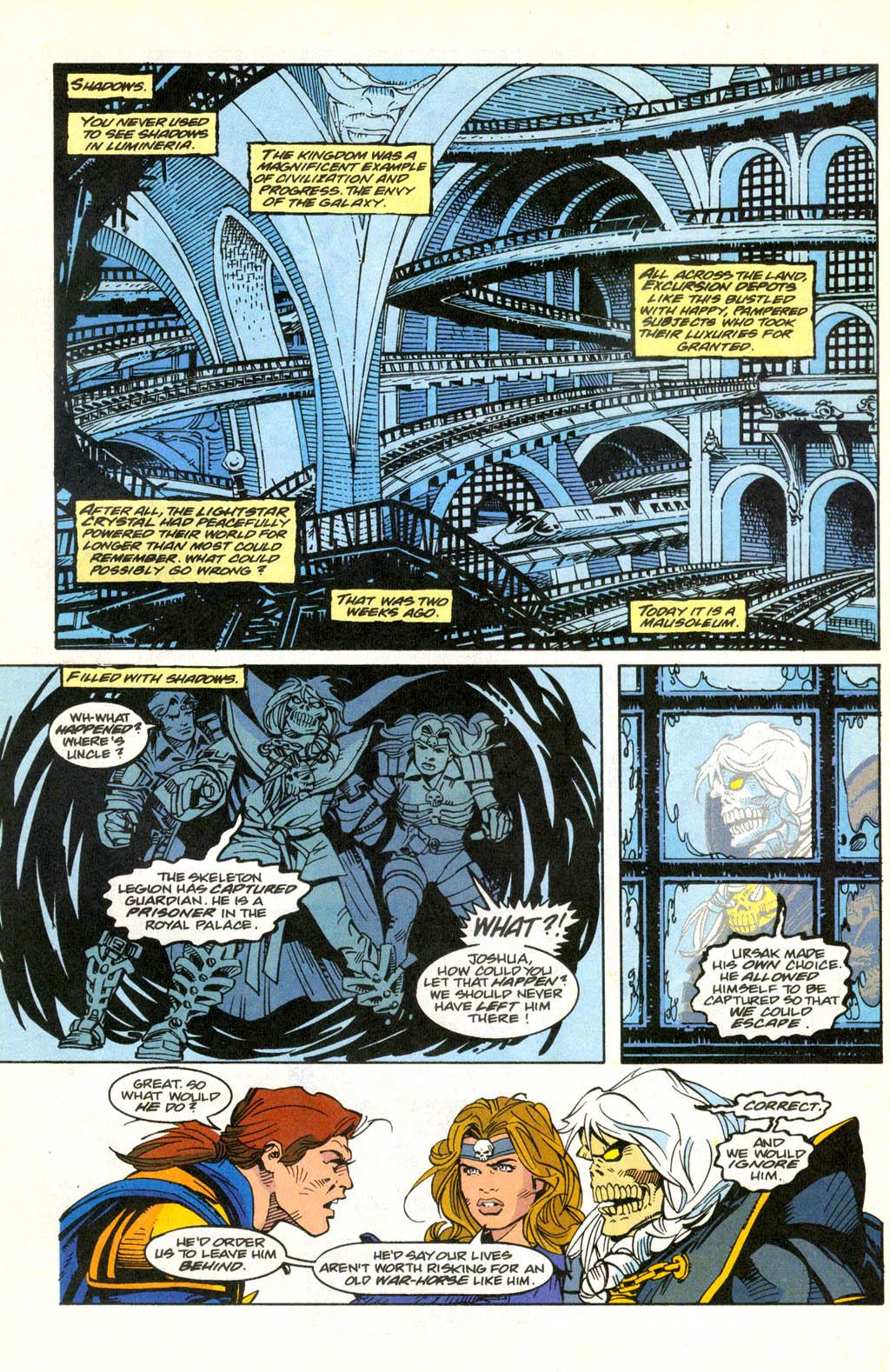 Skeleton Warriors Issue #2 #2 - English 8