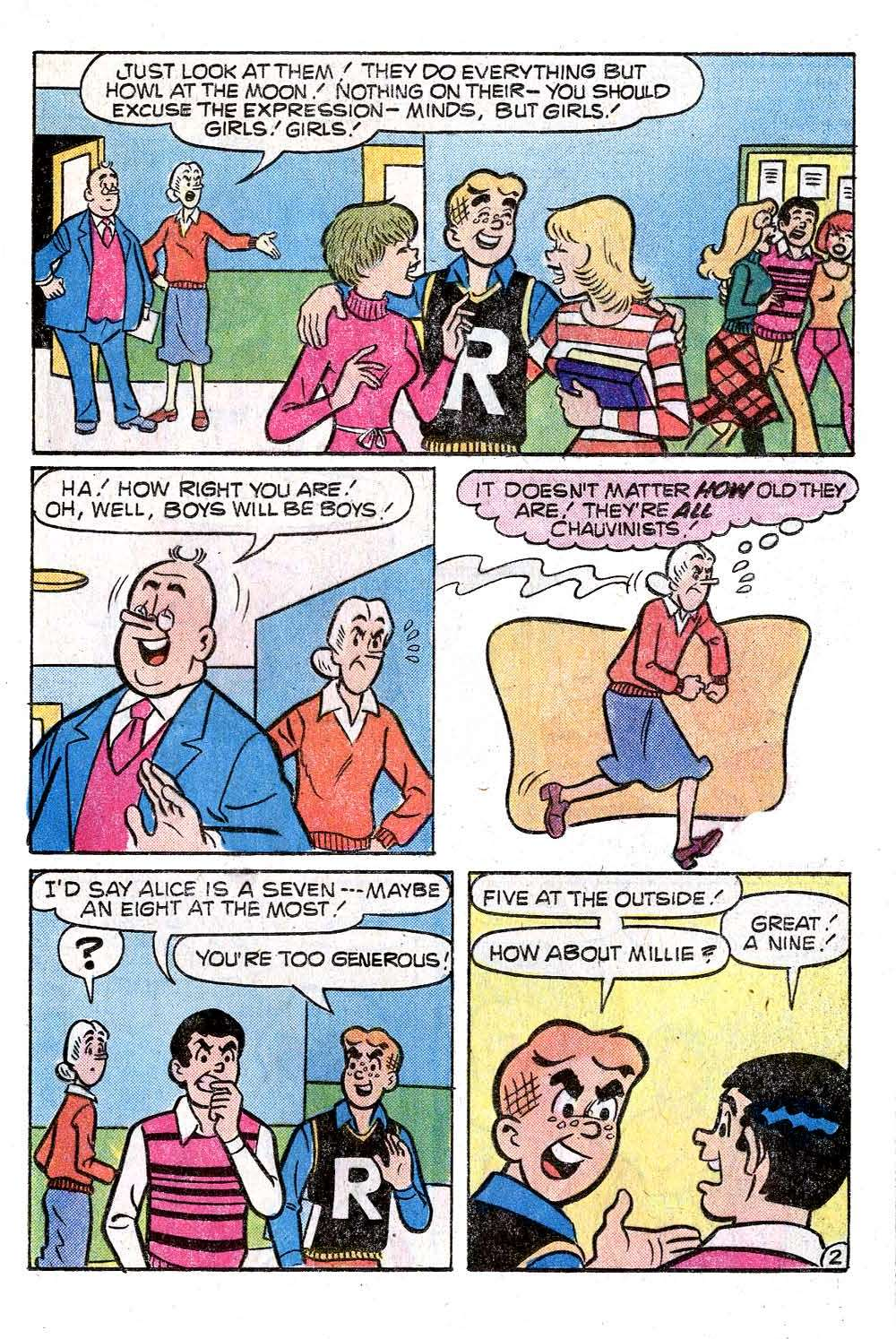 Read online Archie (1960) comic -  Issue #272 - 21