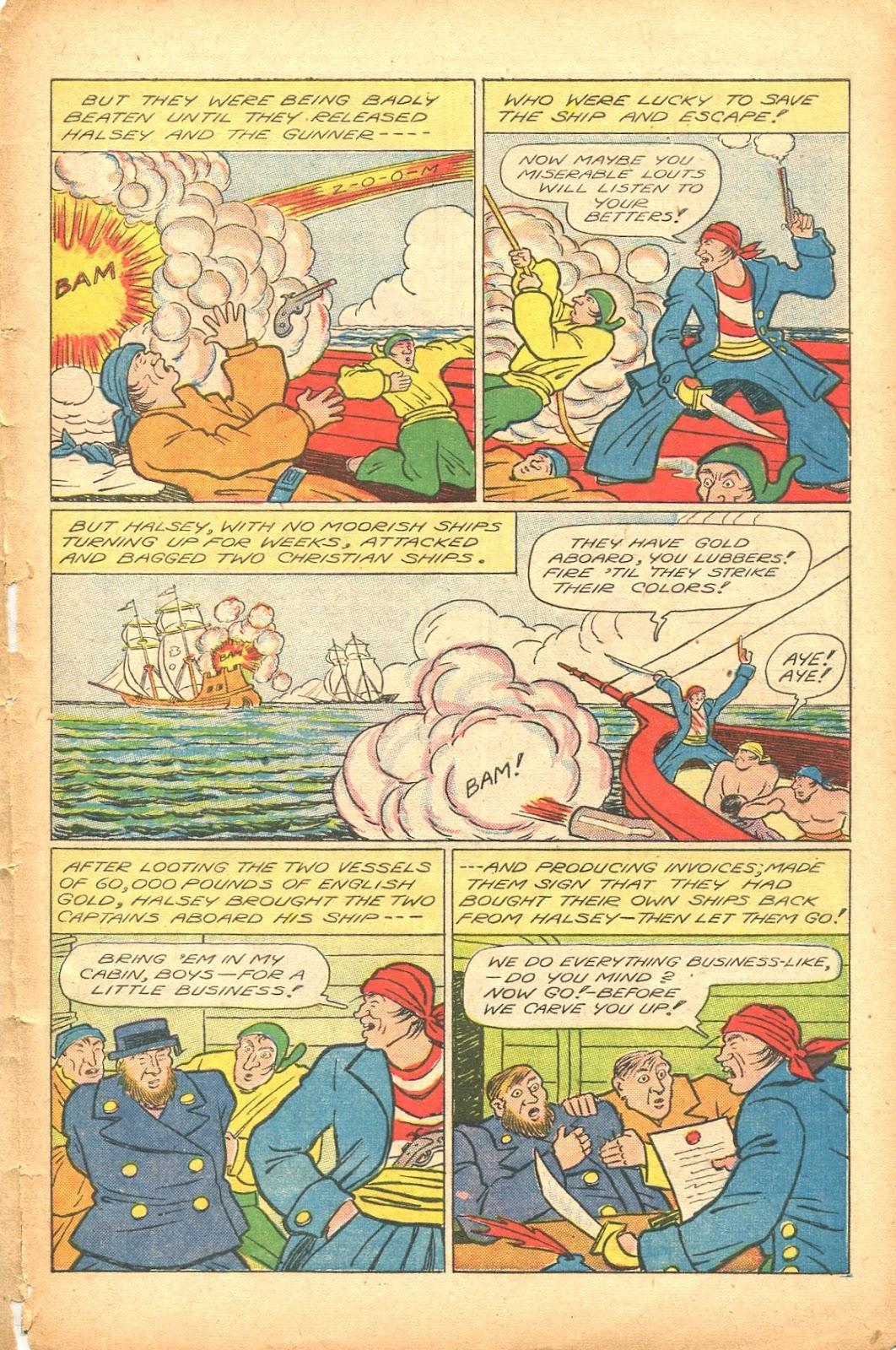 Read online Super-Magician Comics comic -  Issue #35 - 41
