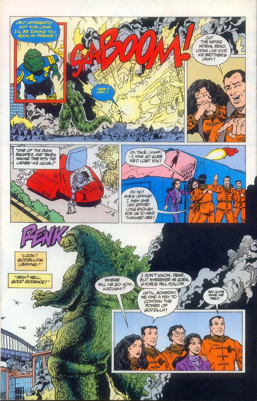 Godzilla (1995) Issue #8 #9 - English 26