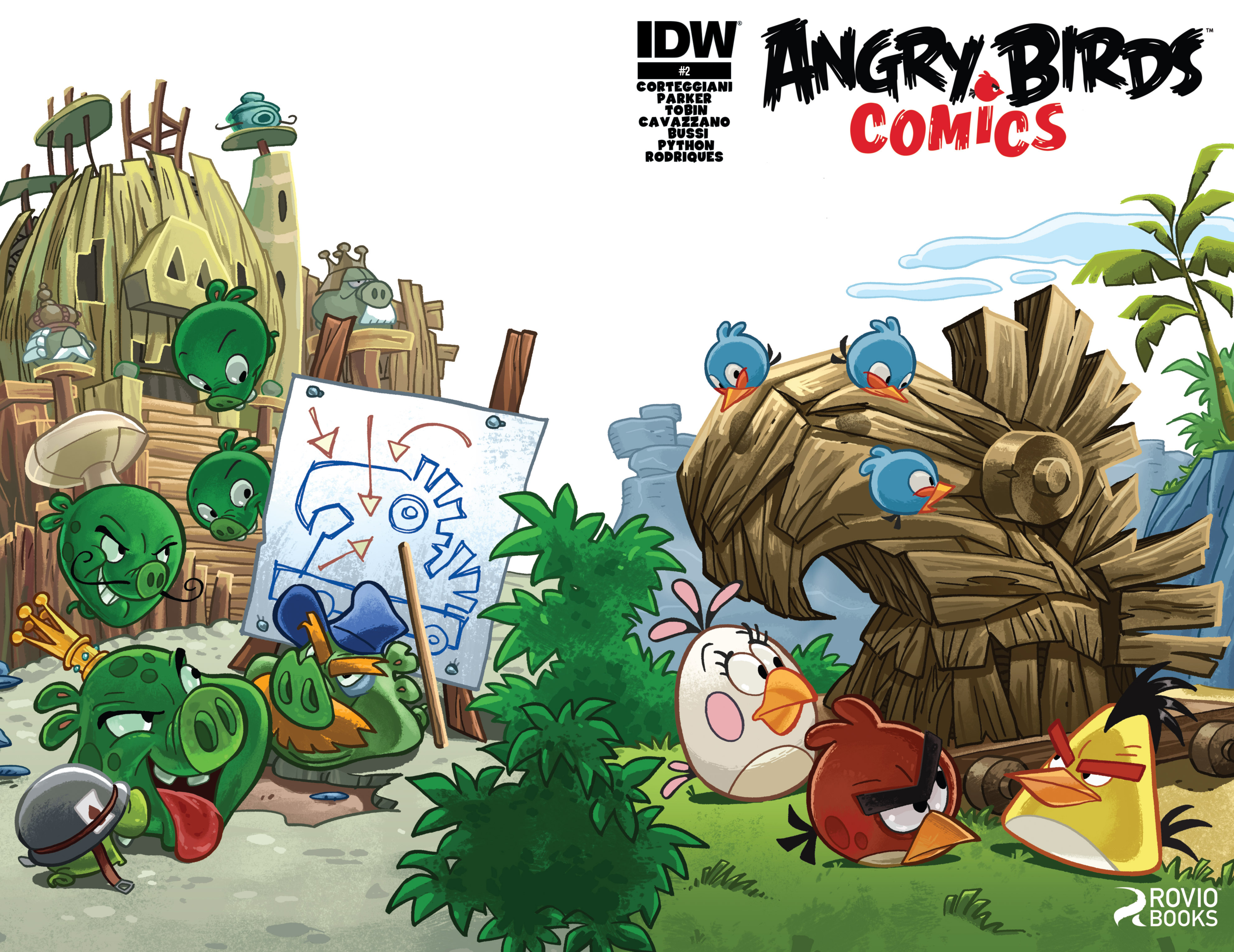 Read online Angry Birds Comics (2014) comic -  Issue #2 - 1