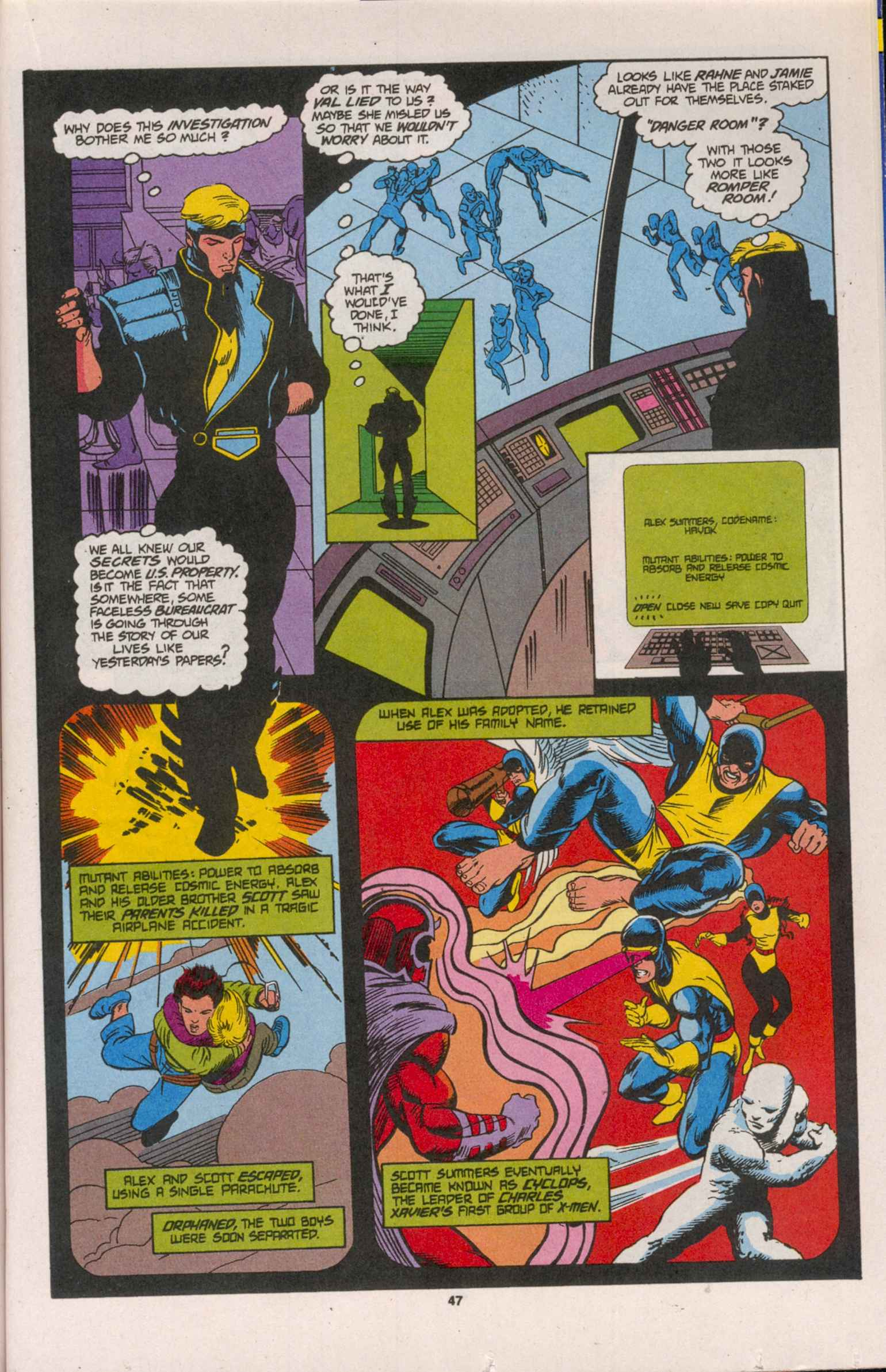 Read online X-Factor (1986) comic -  Issue # _ Annual 8 - 42