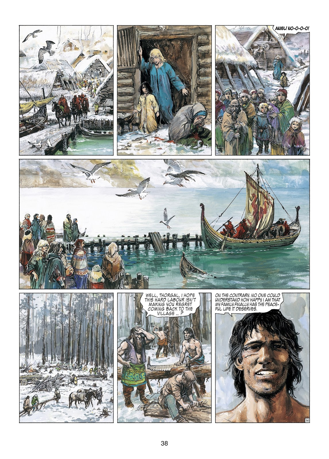 Read online Thorgal comic -  Issue #23 - 40