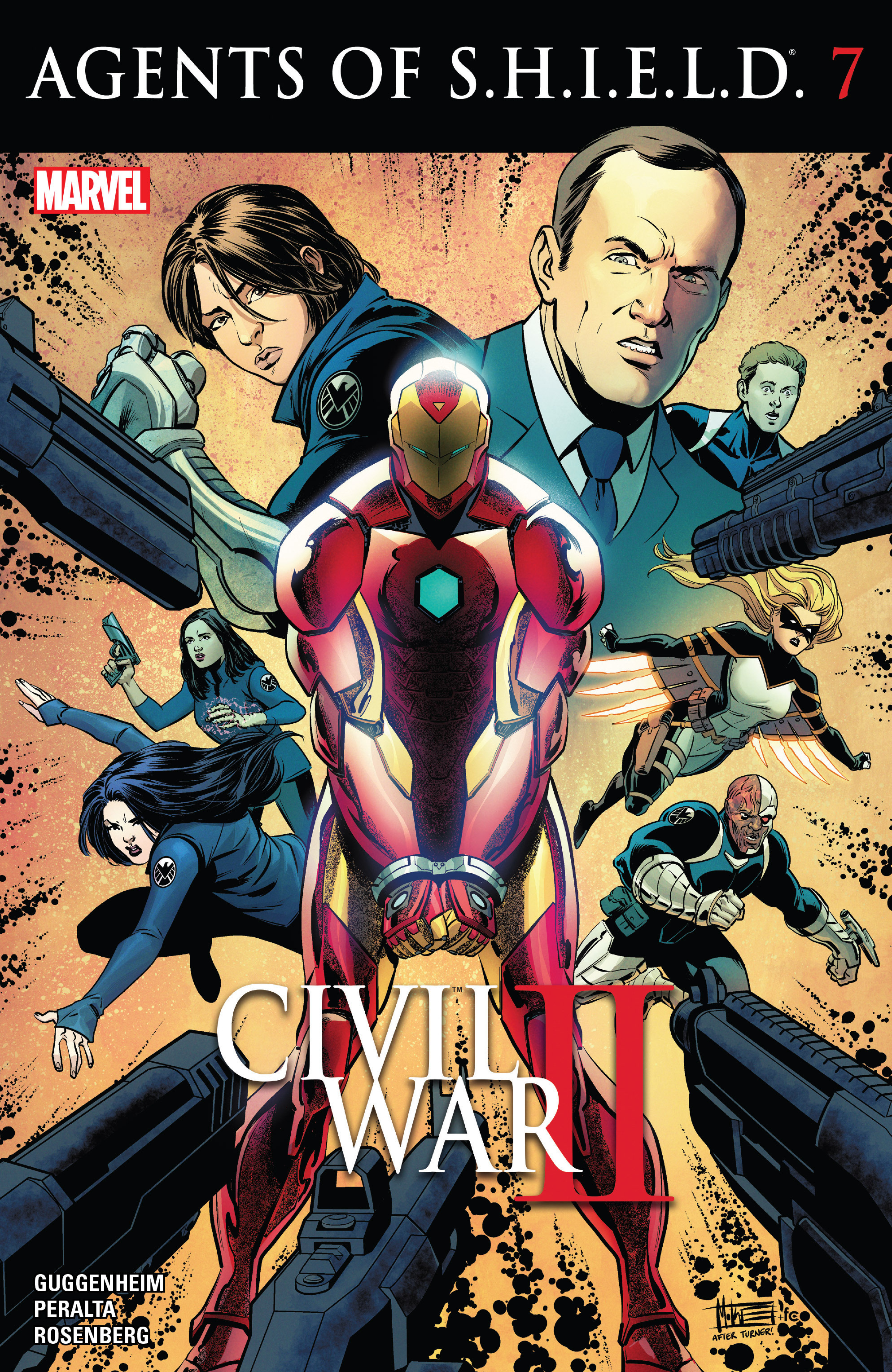 Read online Agents of S.H.I.E.L.D. comic -  Issue #7 - 1