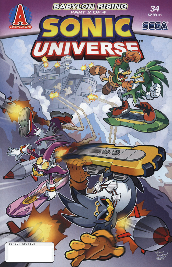 Read online Sonic Universe comic -  Issue #34 - 1