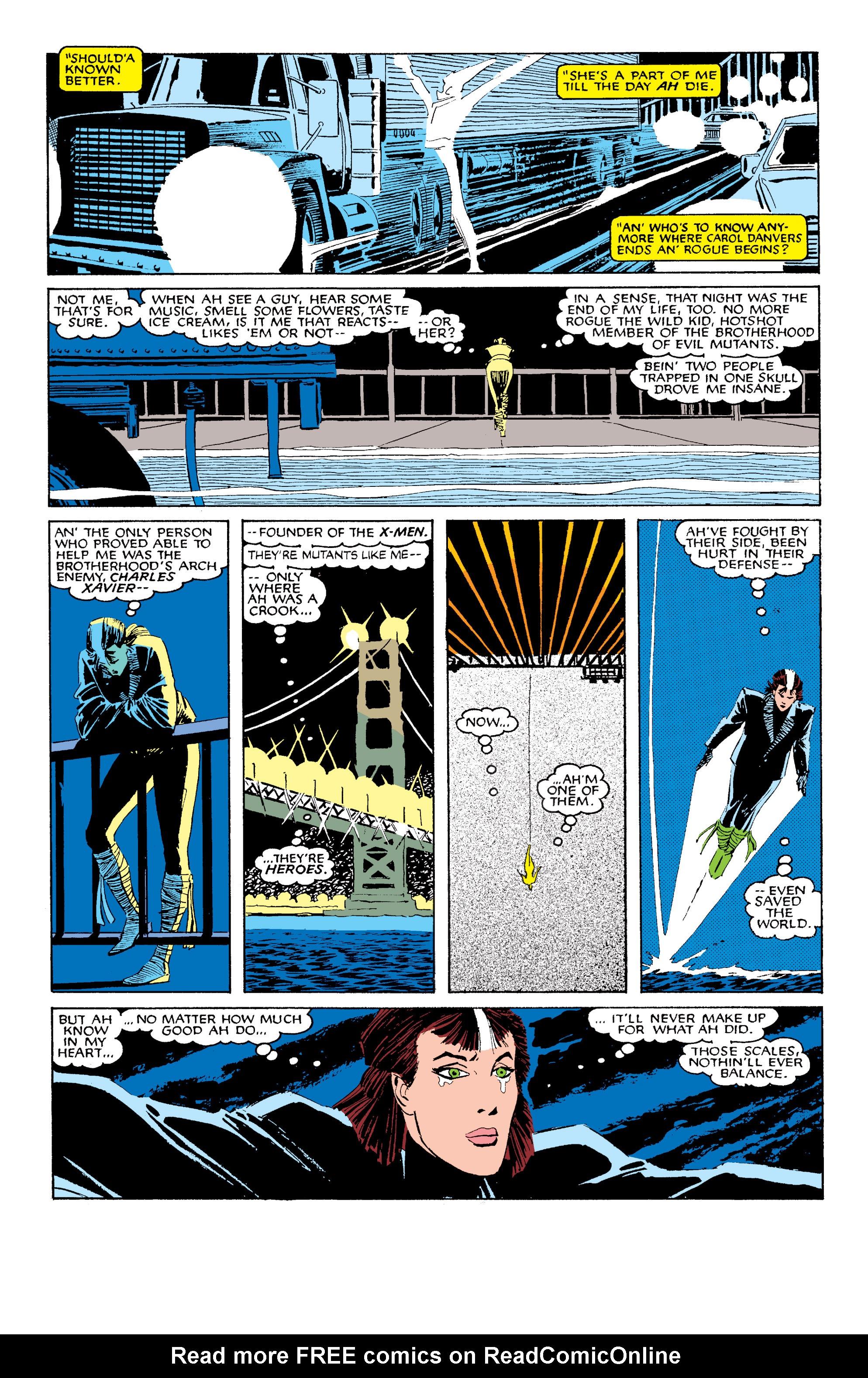 Read online Uncanny X-Men (1963) comic -  Issue #203 - 5