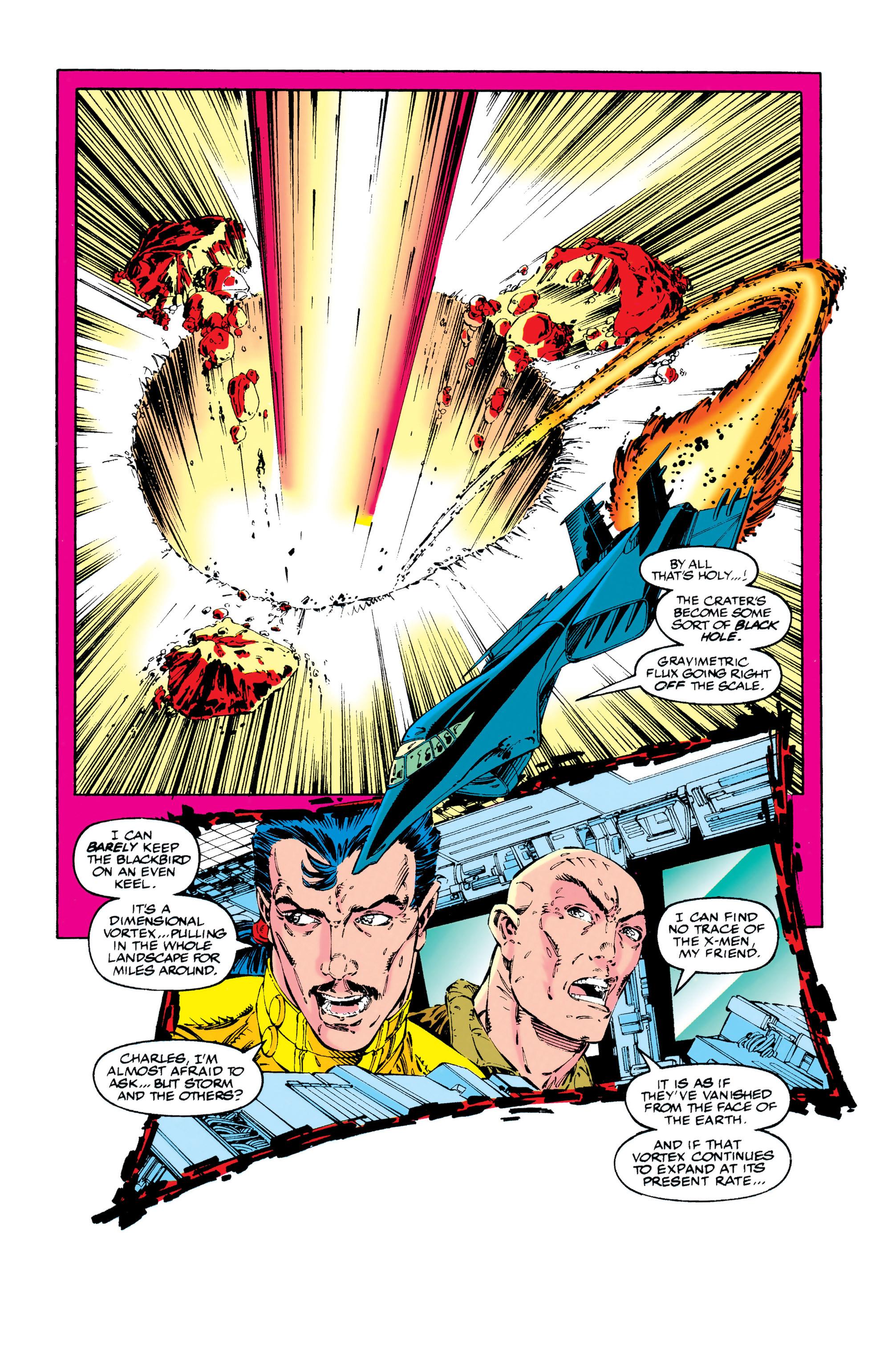 Read online Uncanny X-Men (1963) comic -  Issue #284 - 18