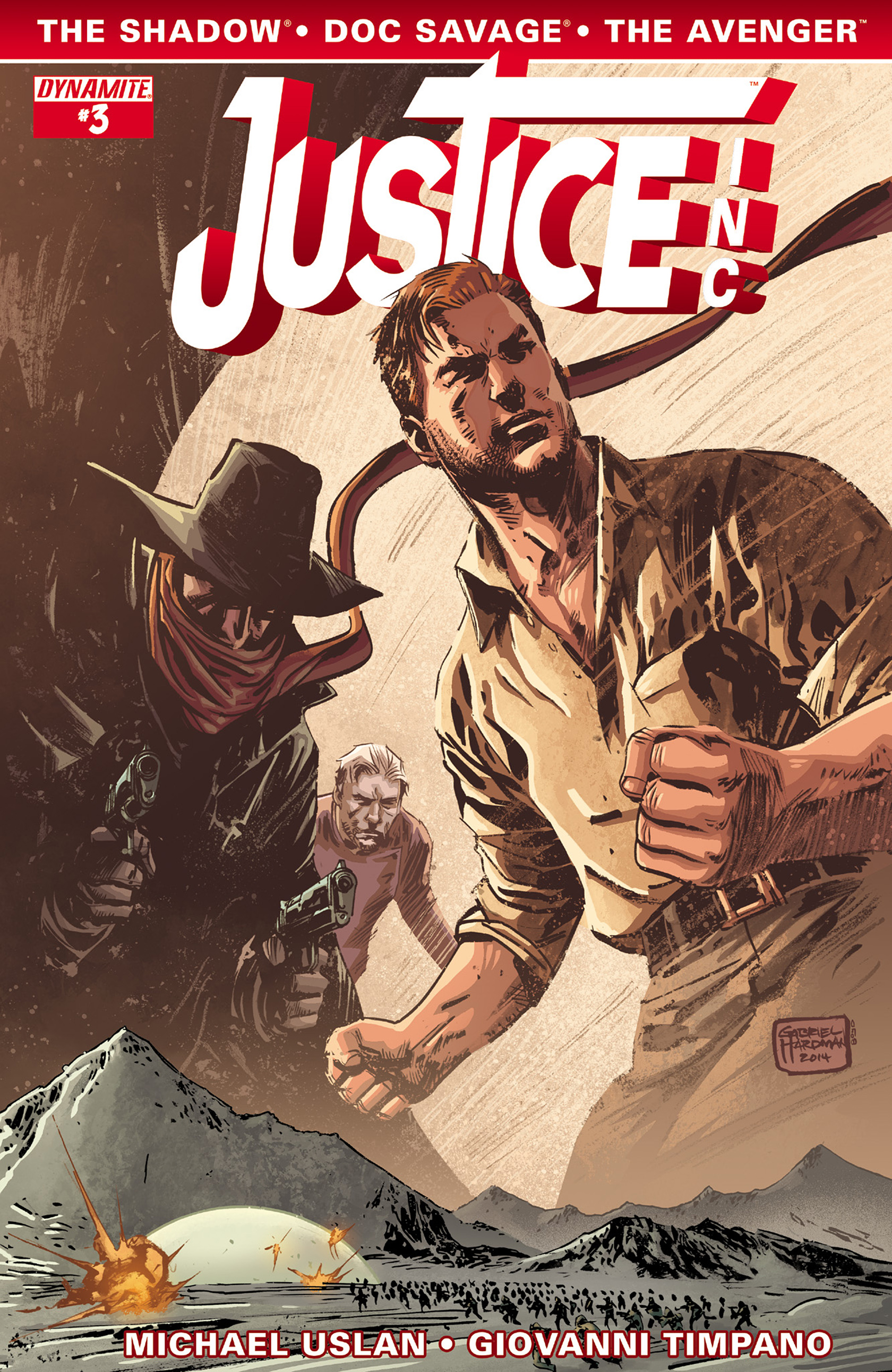 Read online Justice, Inc. comic -  Issue #3 - 3
