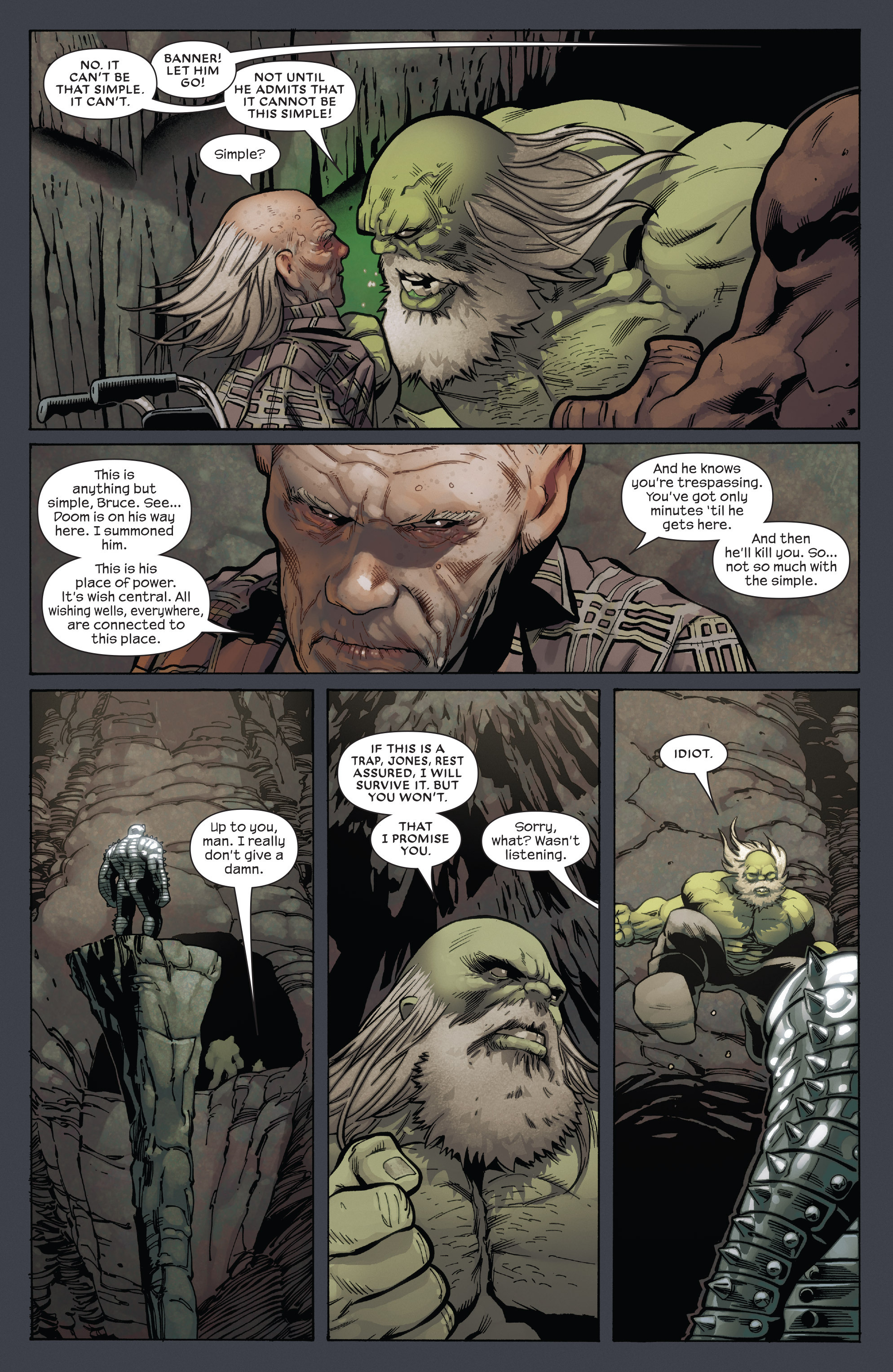Read online Future Imperfect comic -  Issue #5 - 7