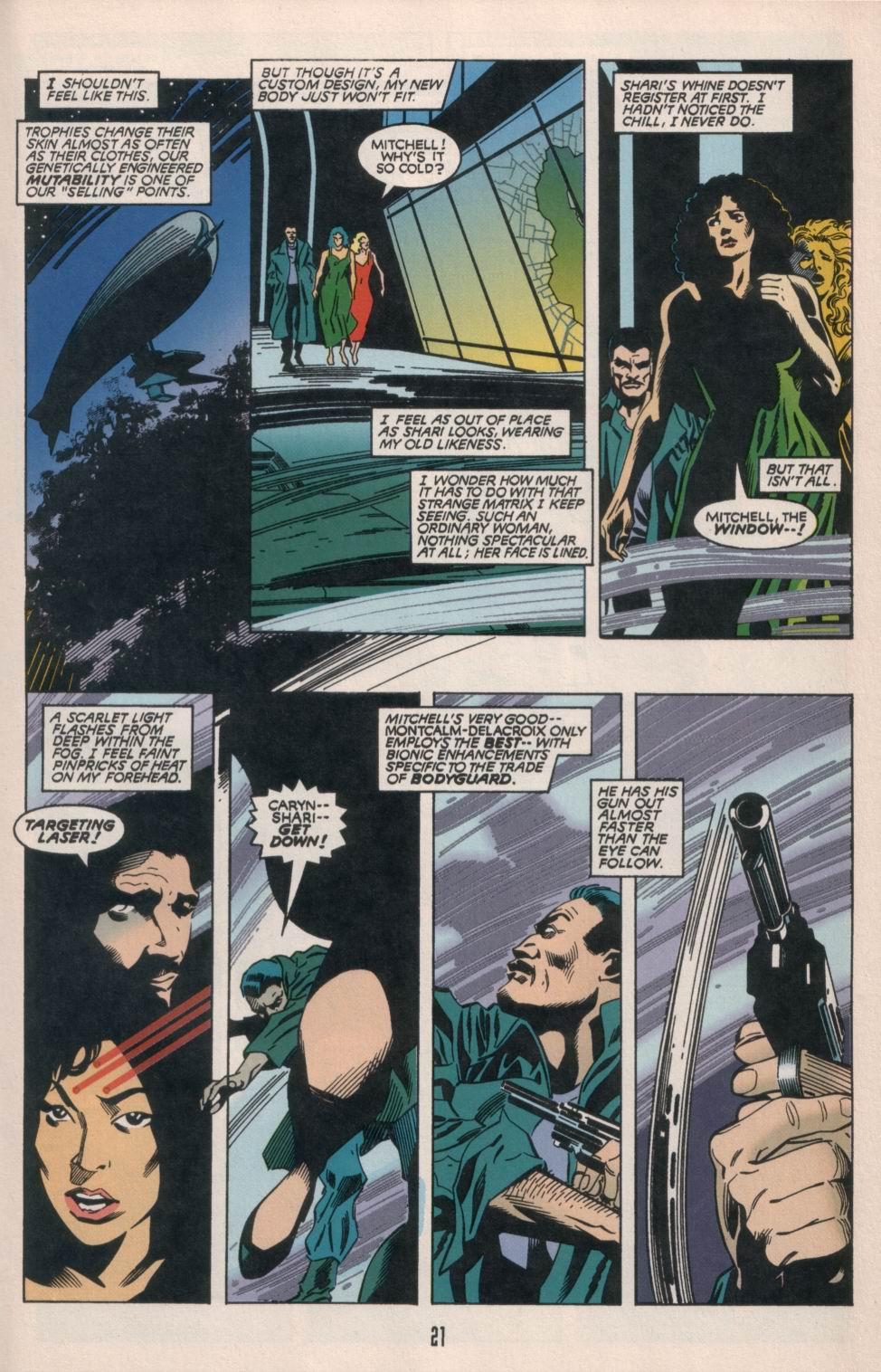 Read online Aliens/Predator: The Deadliest of the Species comic -  Issue #1 - 22
