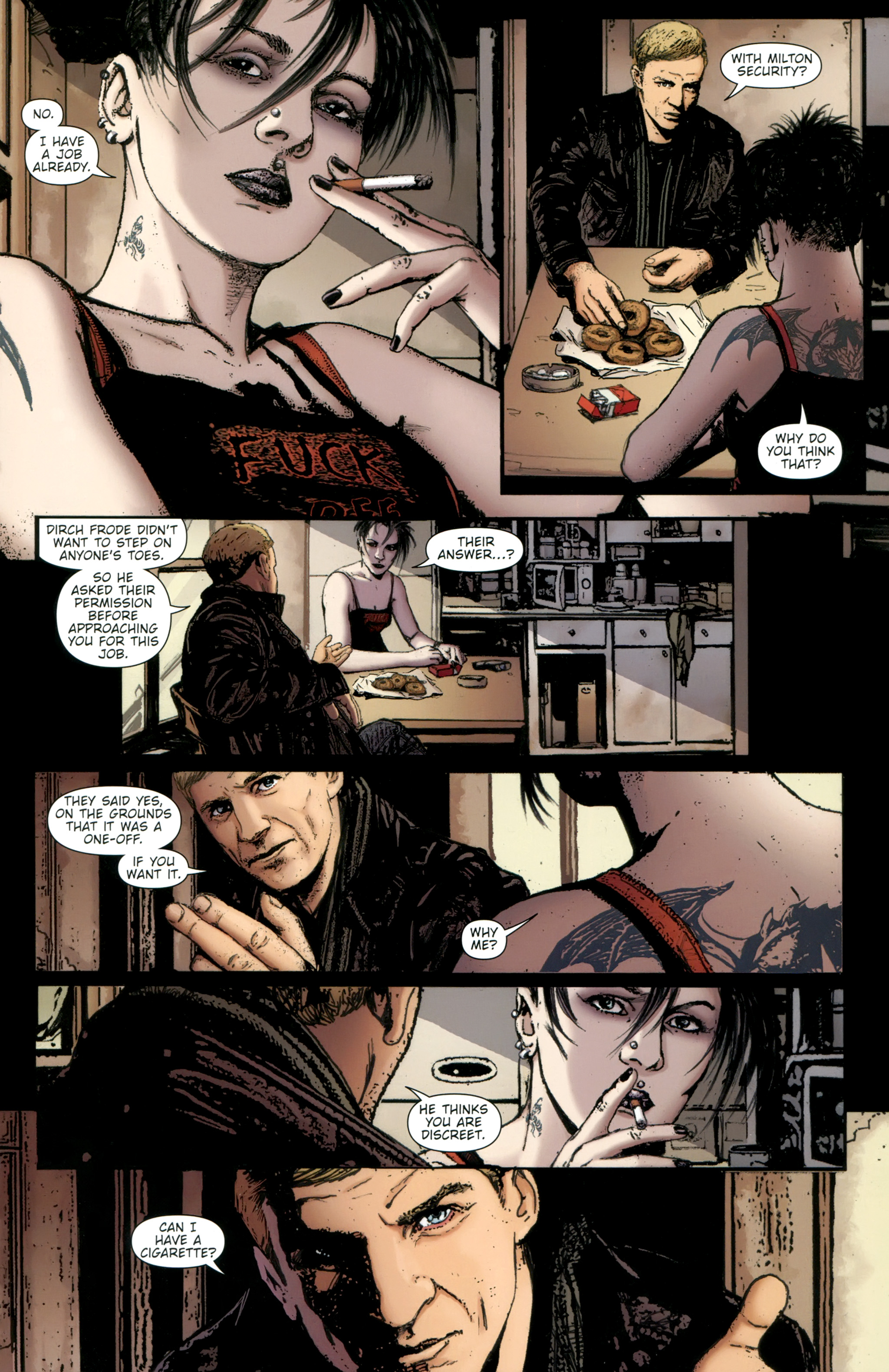 Read online The Girl With the Dragon Tattoo comic -  Issue # TPB 2 - 47