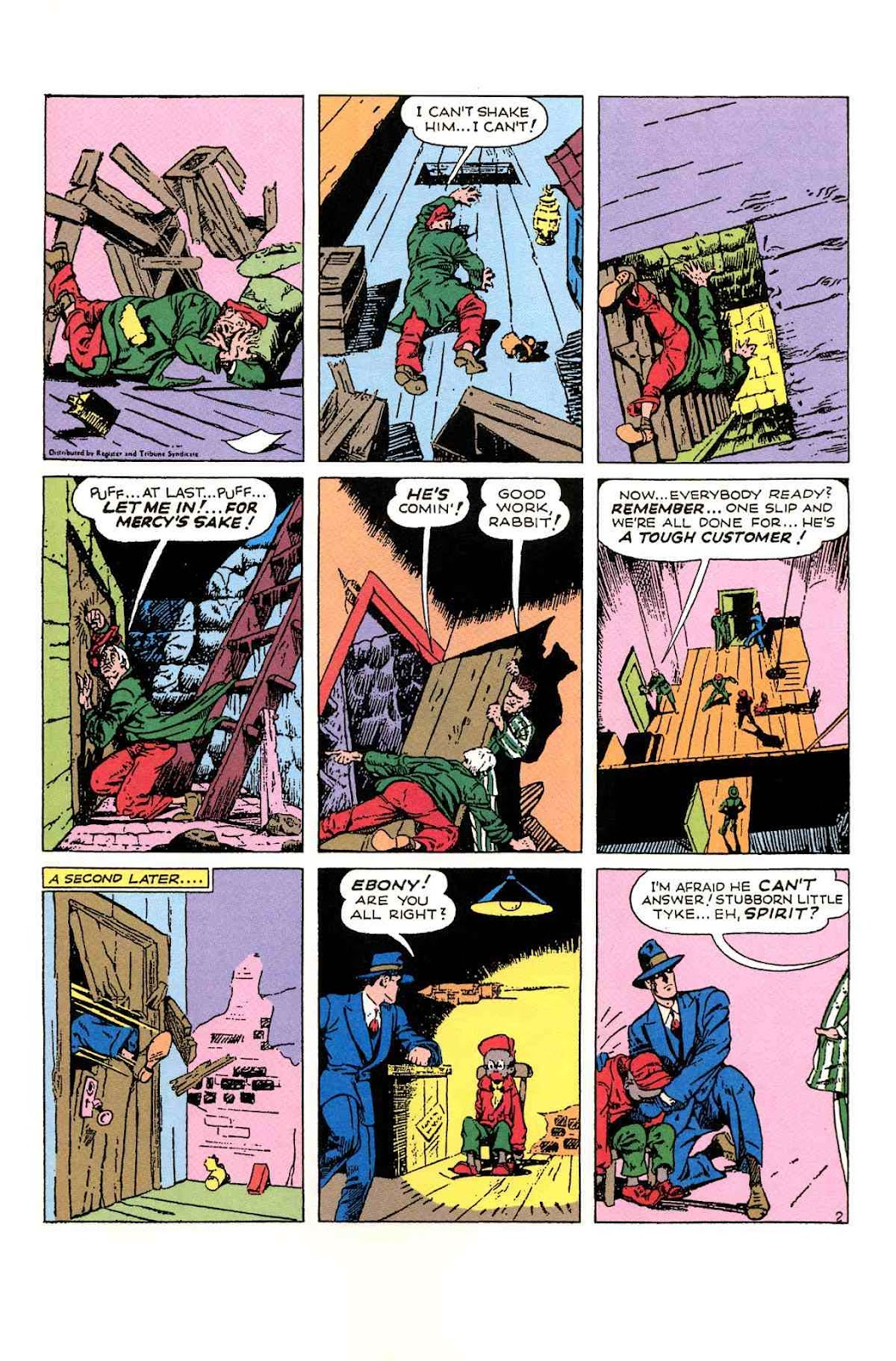Read online Will Eisner's The Spirit Archives comic -  Issue # TPB 1 (Part 2) - 78