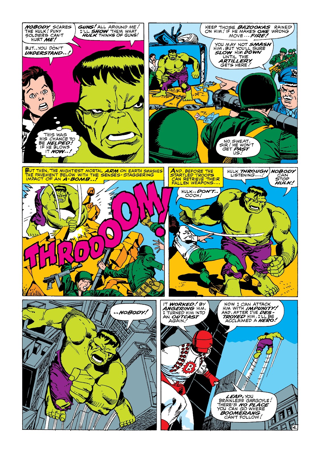 Read online Marvel Masterworks: The Incredible Hulk comic -  Issue # TPB 3 (Part 1) - 99