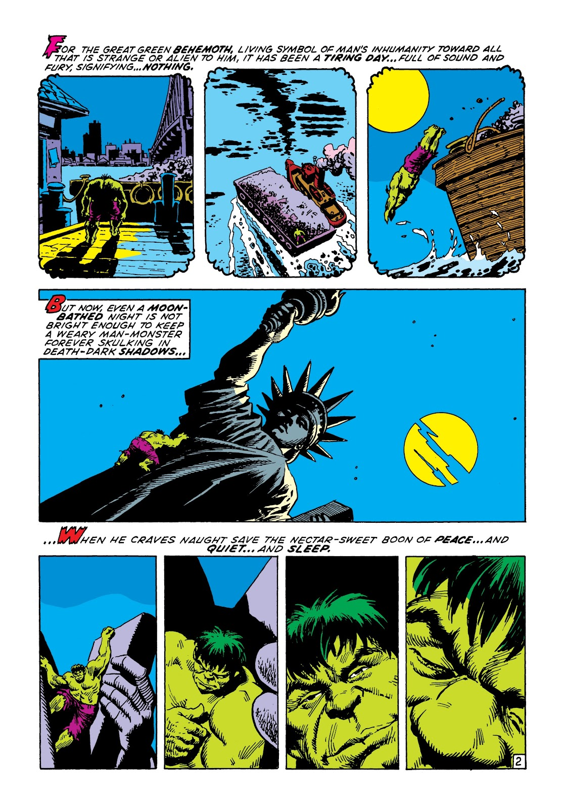 Read online Marvel Masterworks: The Incredible Hulk comic -  Issue # TPB 7 (Part 2) - 69
