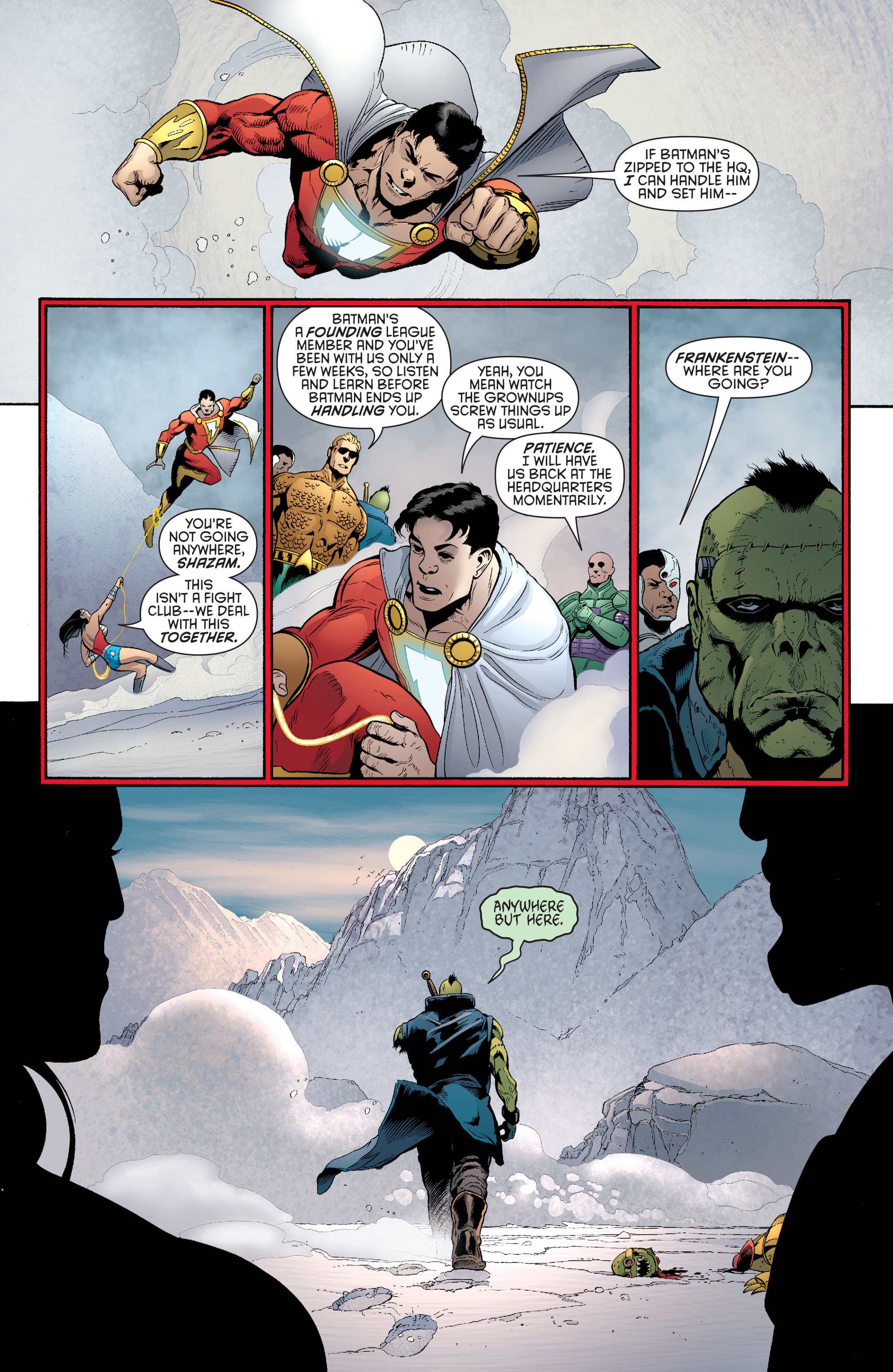 Read online Batman and Robin (2011) comic -  Issue #33 - 5
