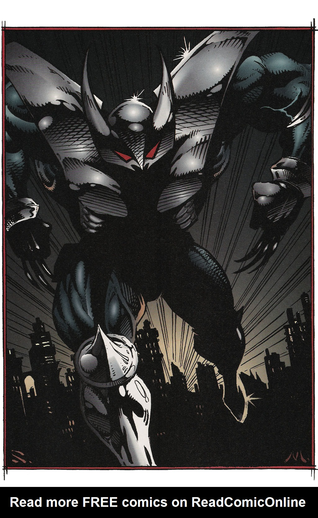 Read online ShadowHawk Gallery comic -  Issue # Full - 12