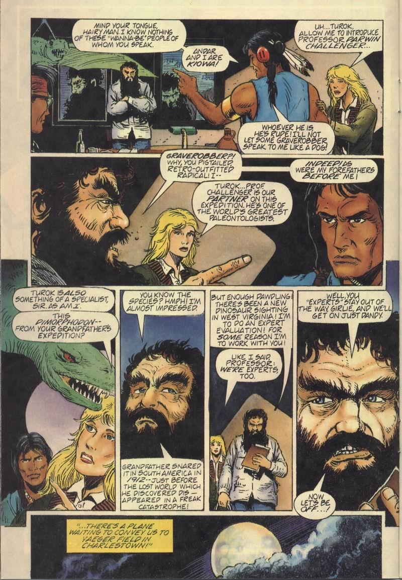 Read online Turok, Dinosaur Hunter (1993) comic -  Issue #7 - 8