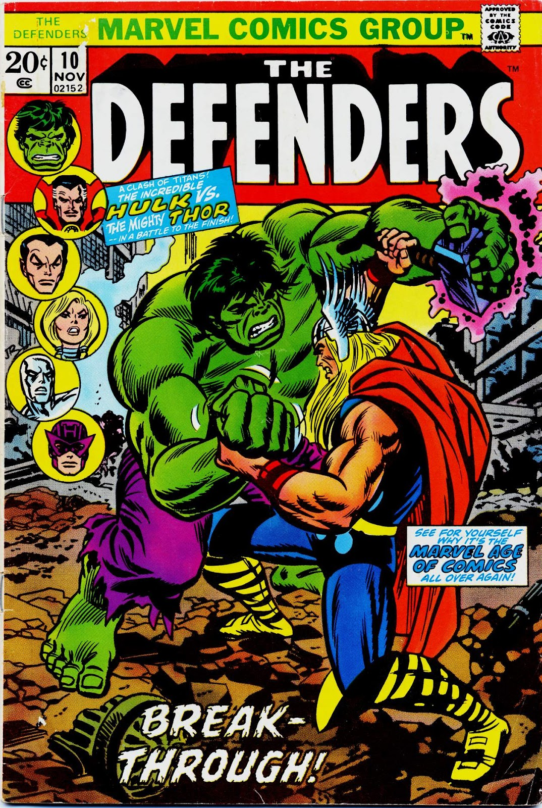The Defenders (1972) issue 10 - Page 1