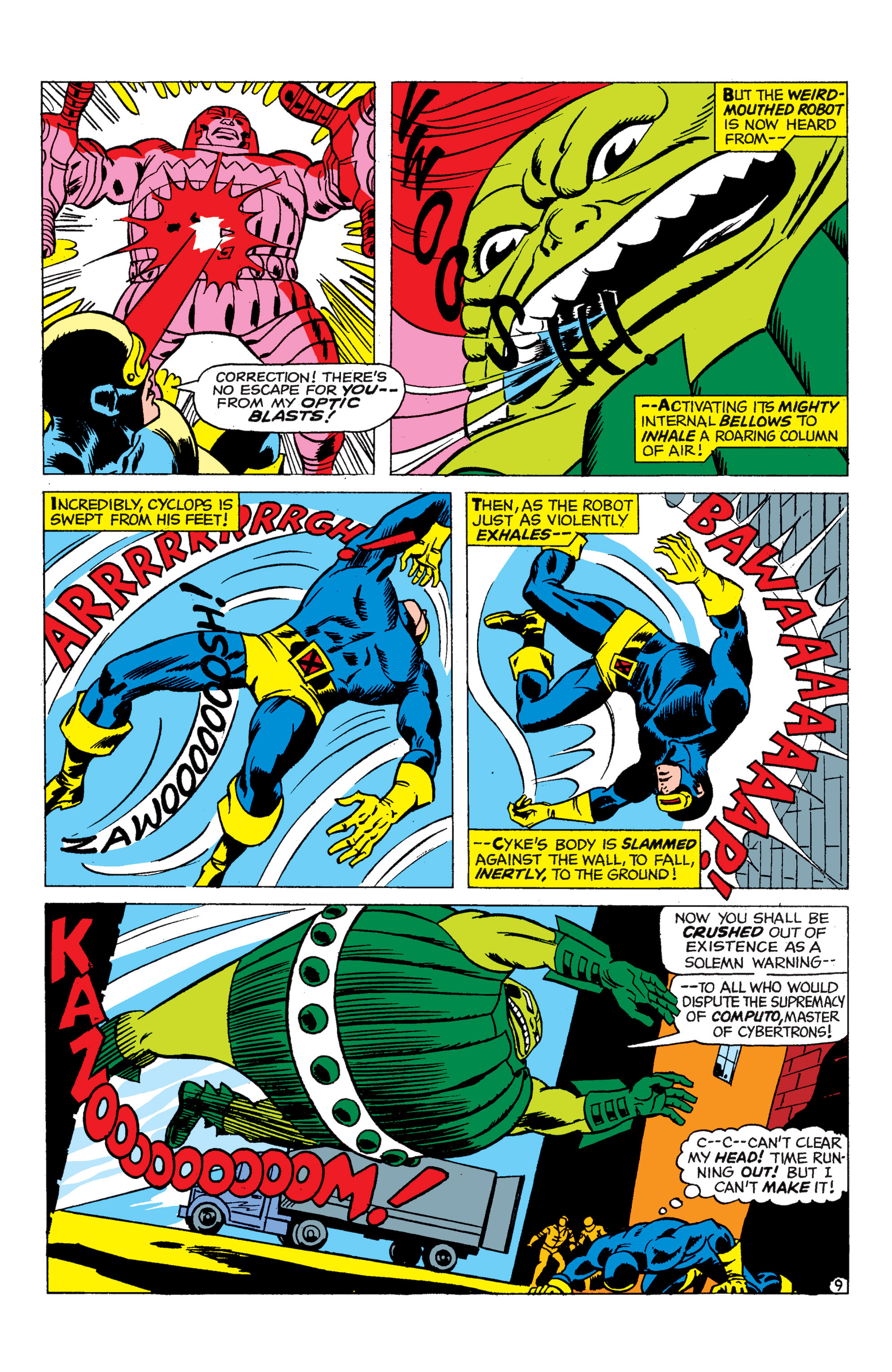 Read online Uncanny X-Men (1963) comic -  Issue #48 - 10