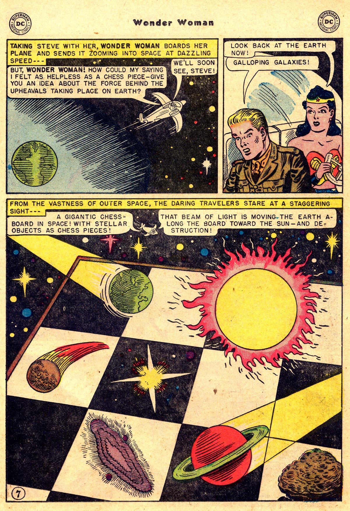 Read online Wonder Woman (1942) comic -  Issue #55 - 21