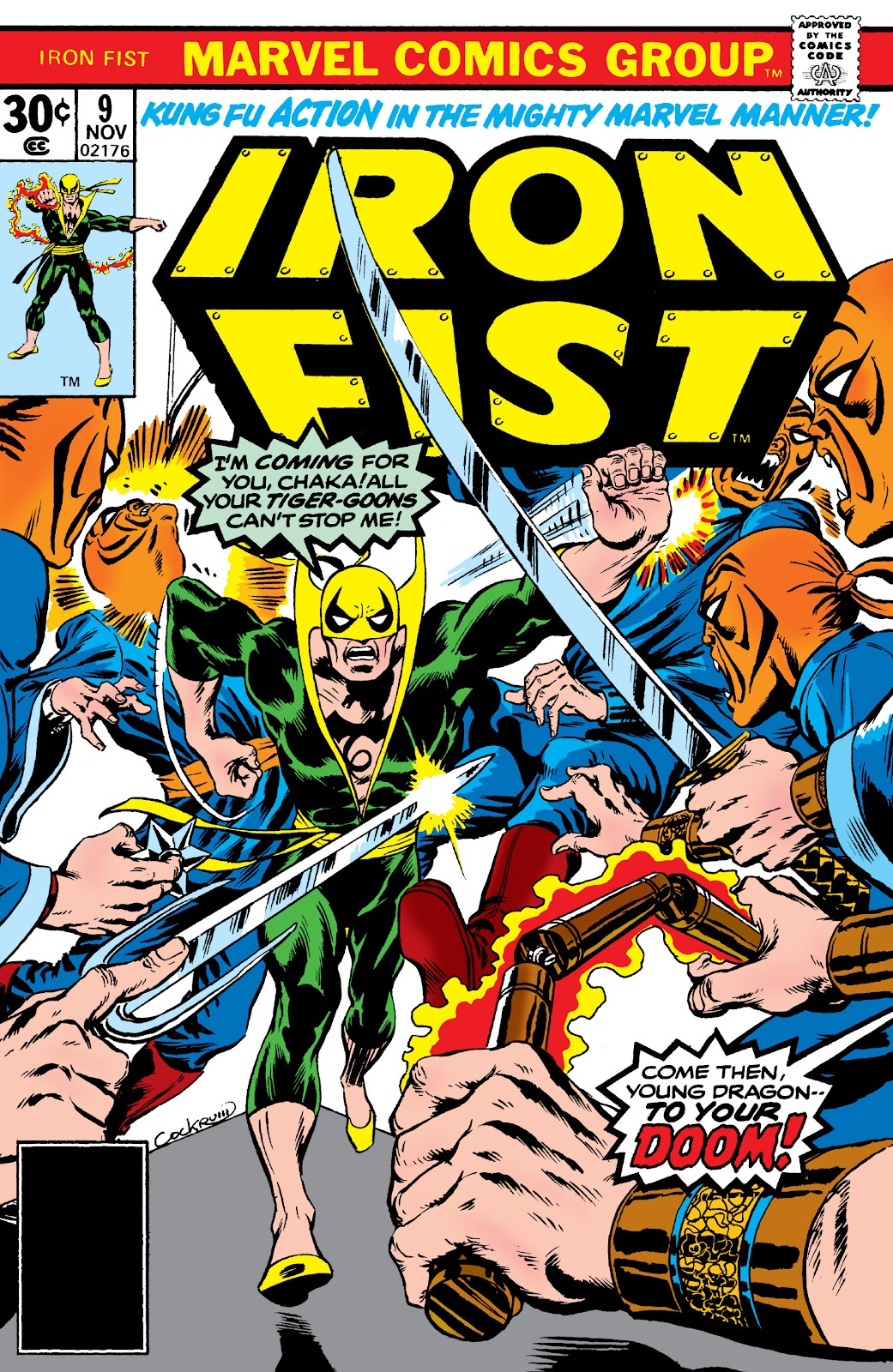 Iron Fist (1975) issue 9 - Page 1