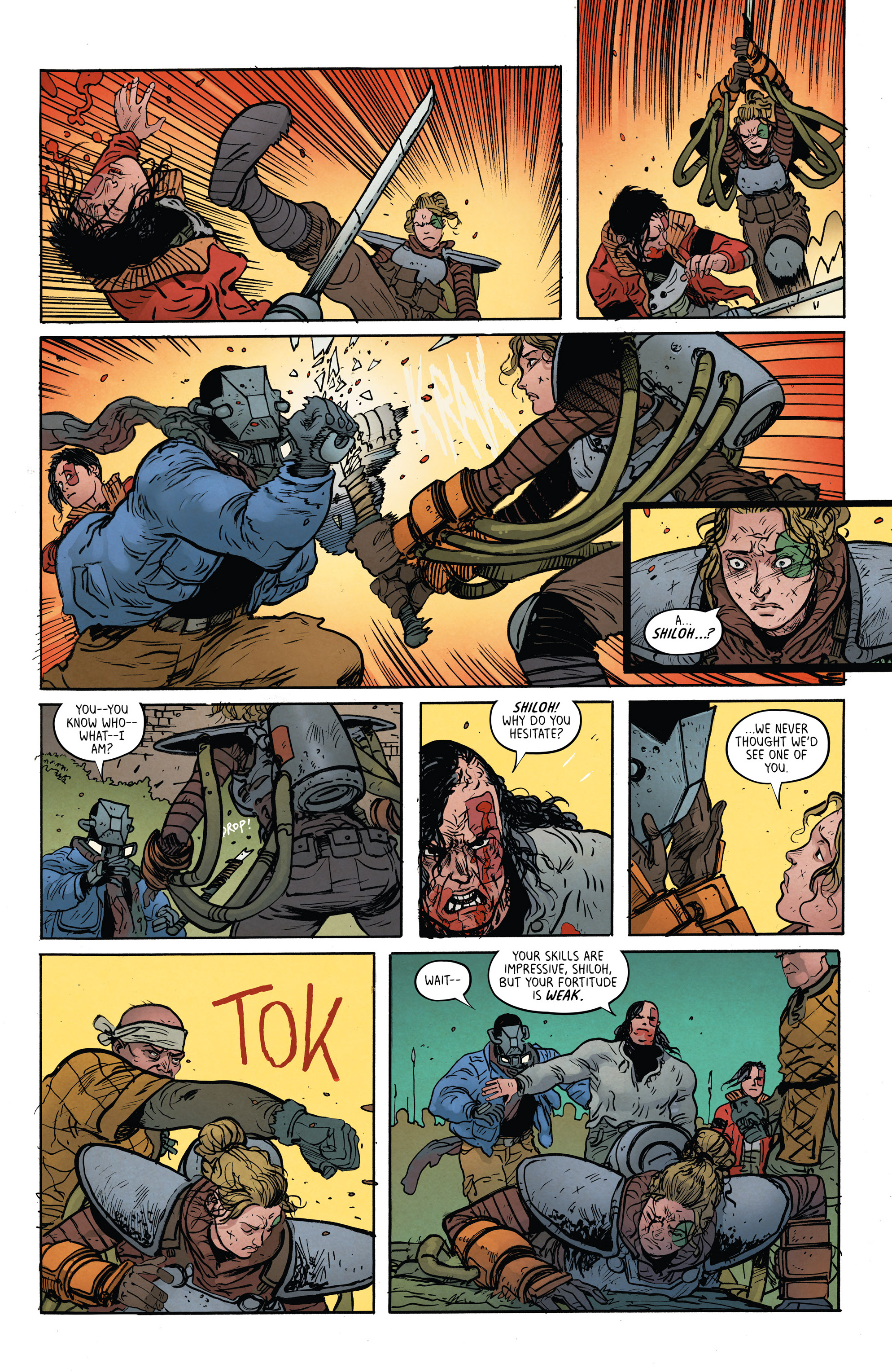Read online Extremity comic -  Issue #4 - 18