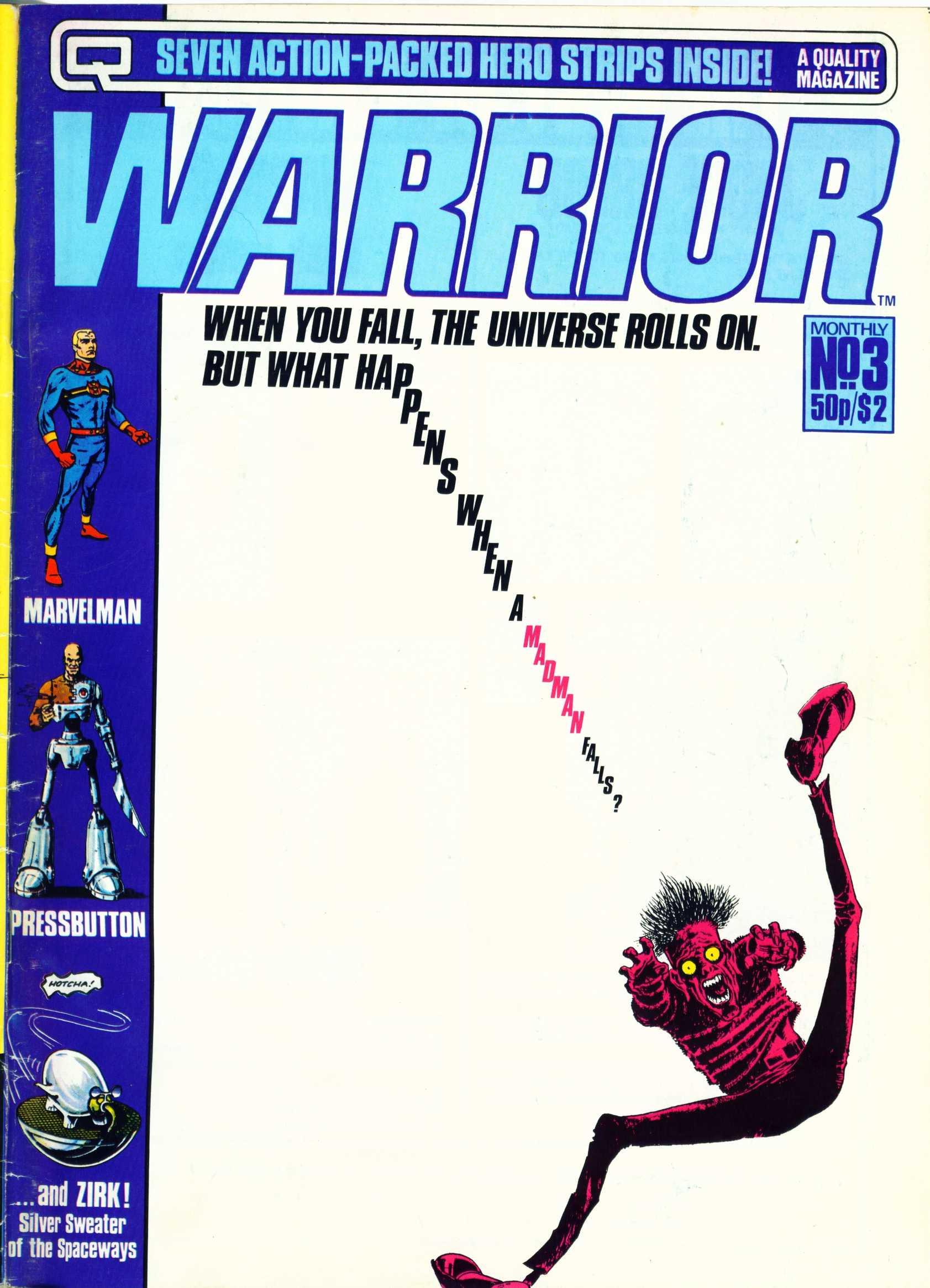Warrior 3 Page 1