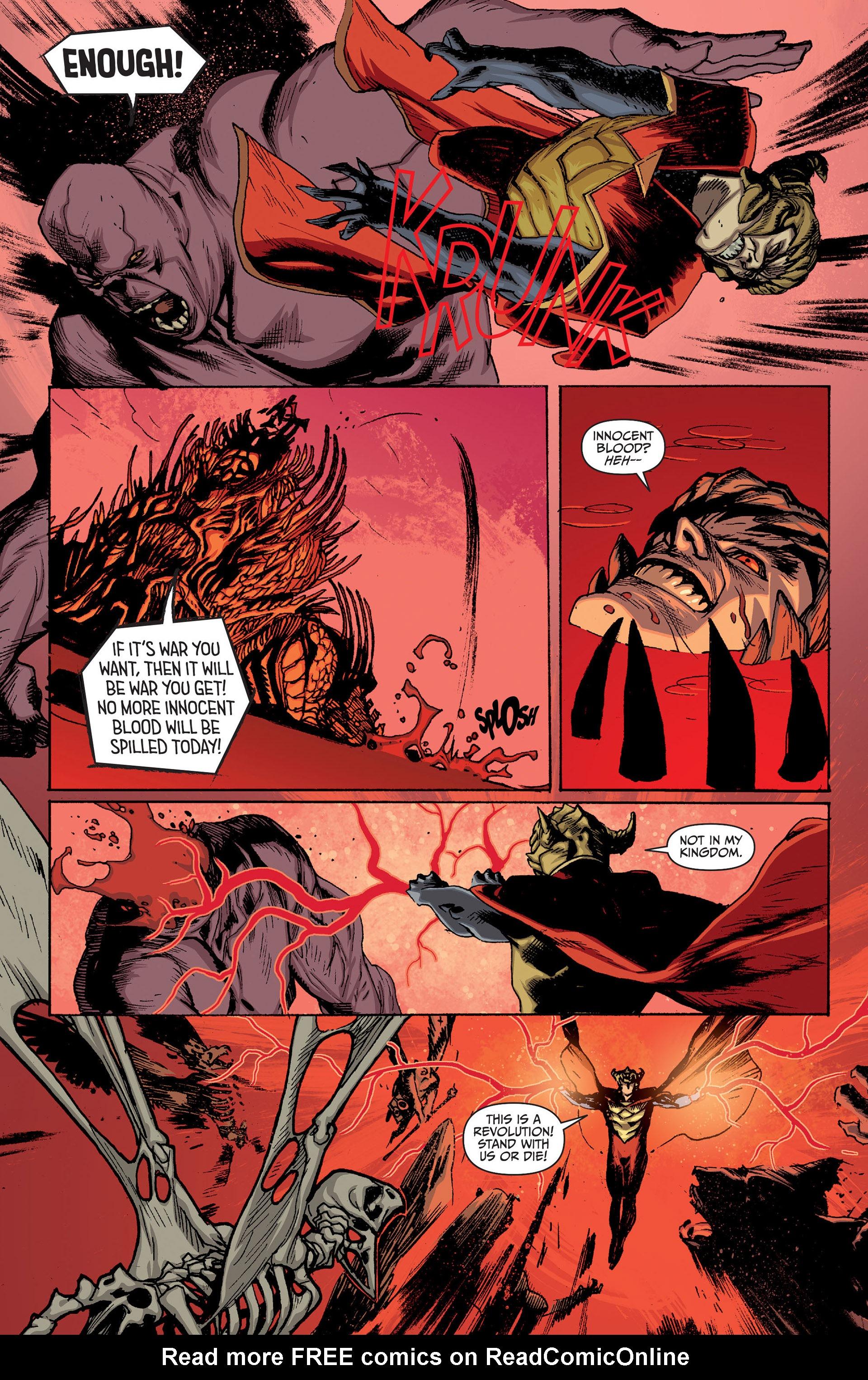 Read online Animal Man (2011) comic -  Issue #24 - 7