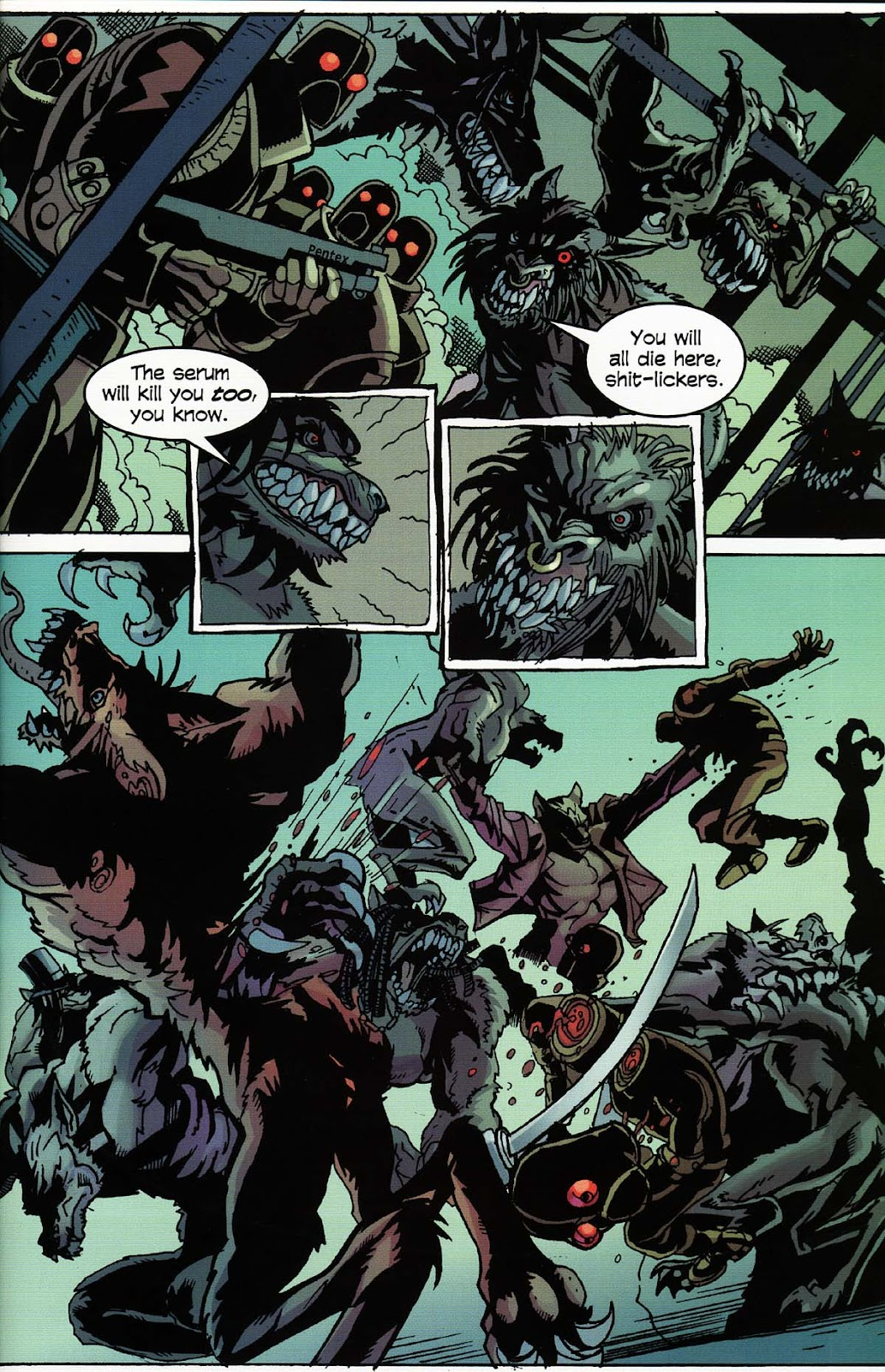 Read online Werewolf the Apocalypse comic -  Issue # Bone Gnawers - 37