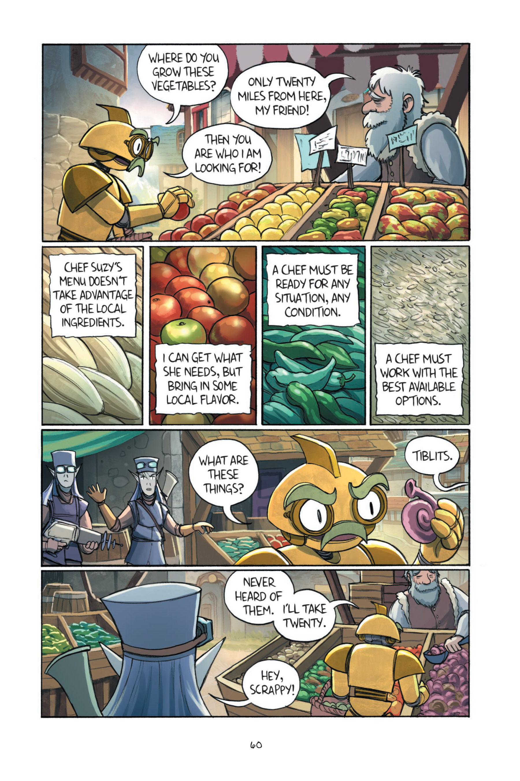 Read online Amulet comic -  Issue #7 - 62