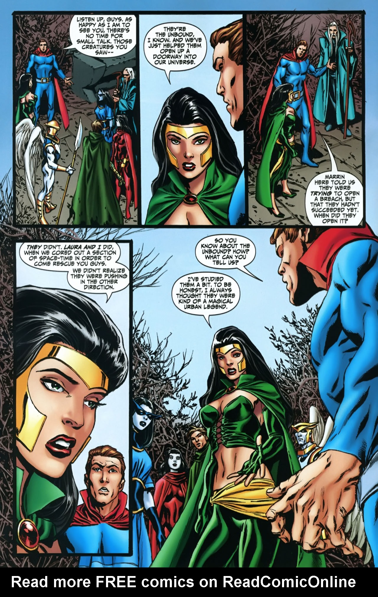 Read online Shadowpact comic -  Issue #22 - 5