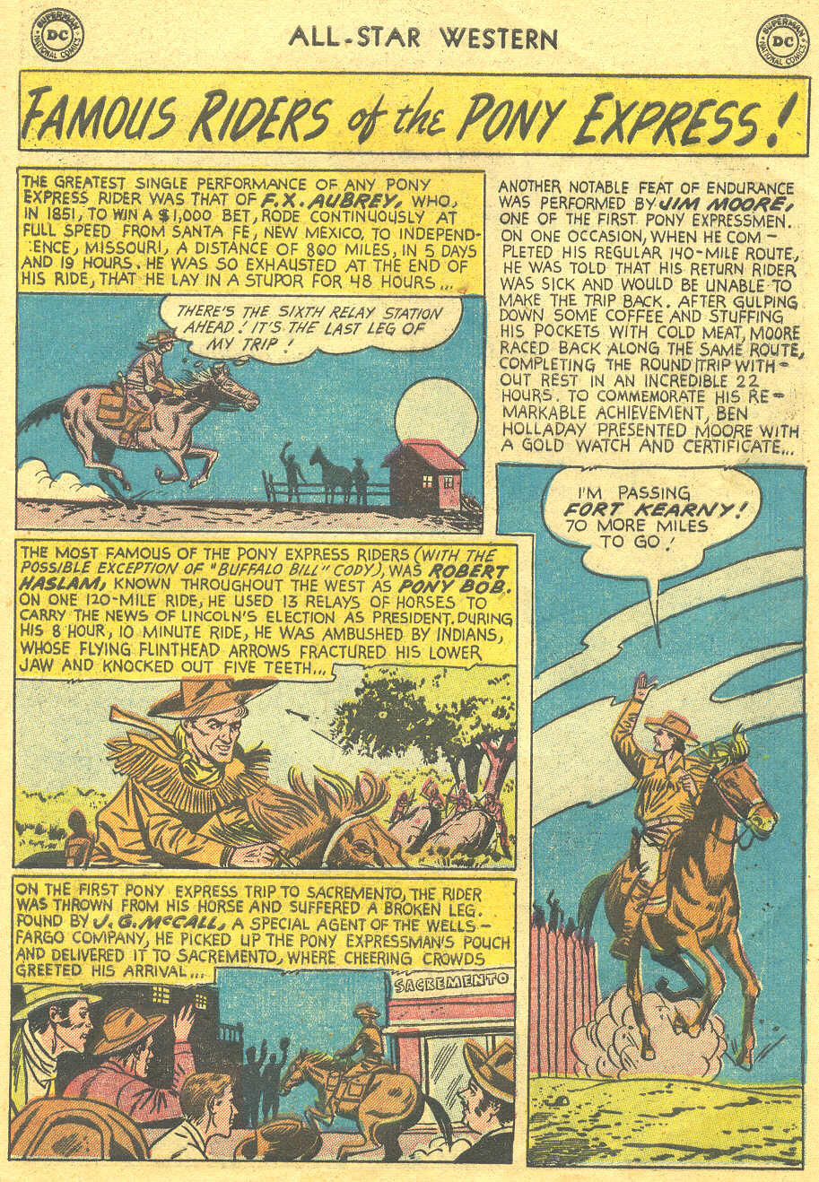 Read online All-Star Western (1951) comic -  Issue #88 - 9