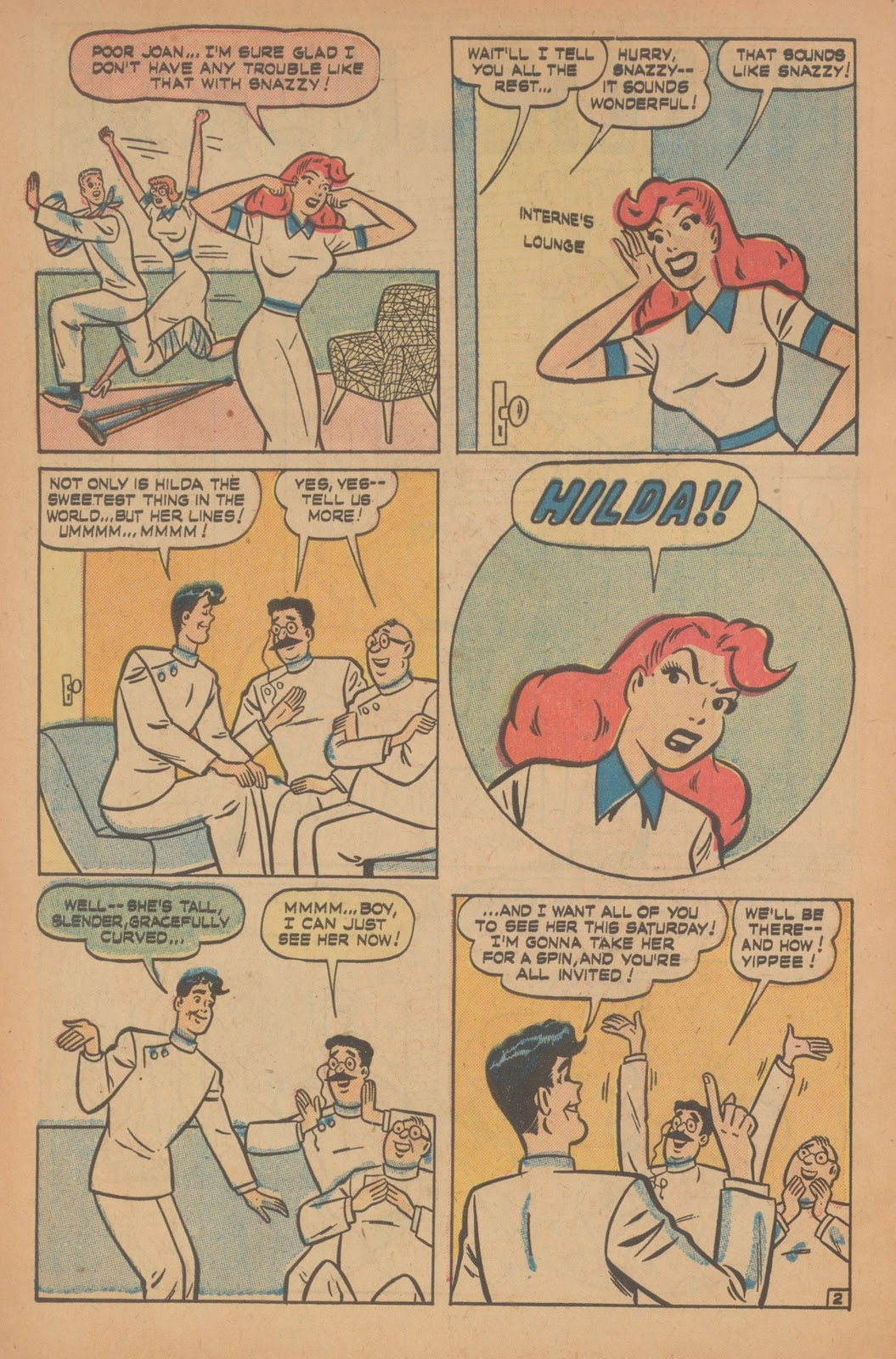 Read online Nellie The Nurse (1945) comic -  Issue #22 - 4