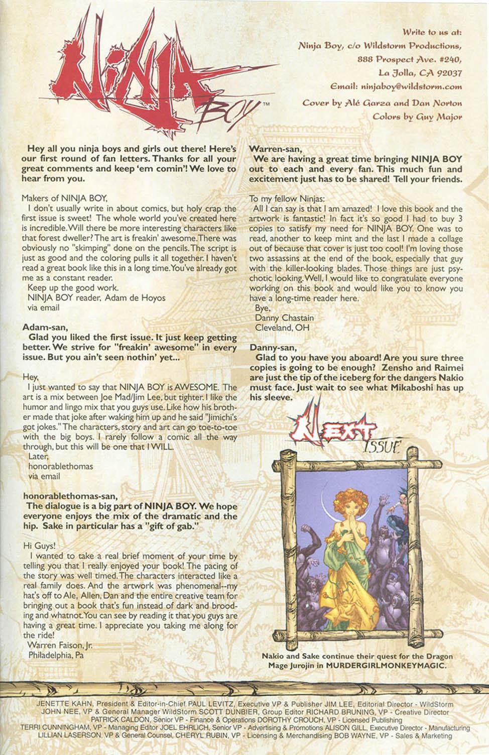 Read online Ninja Boy comic -  Issue #4 - 24