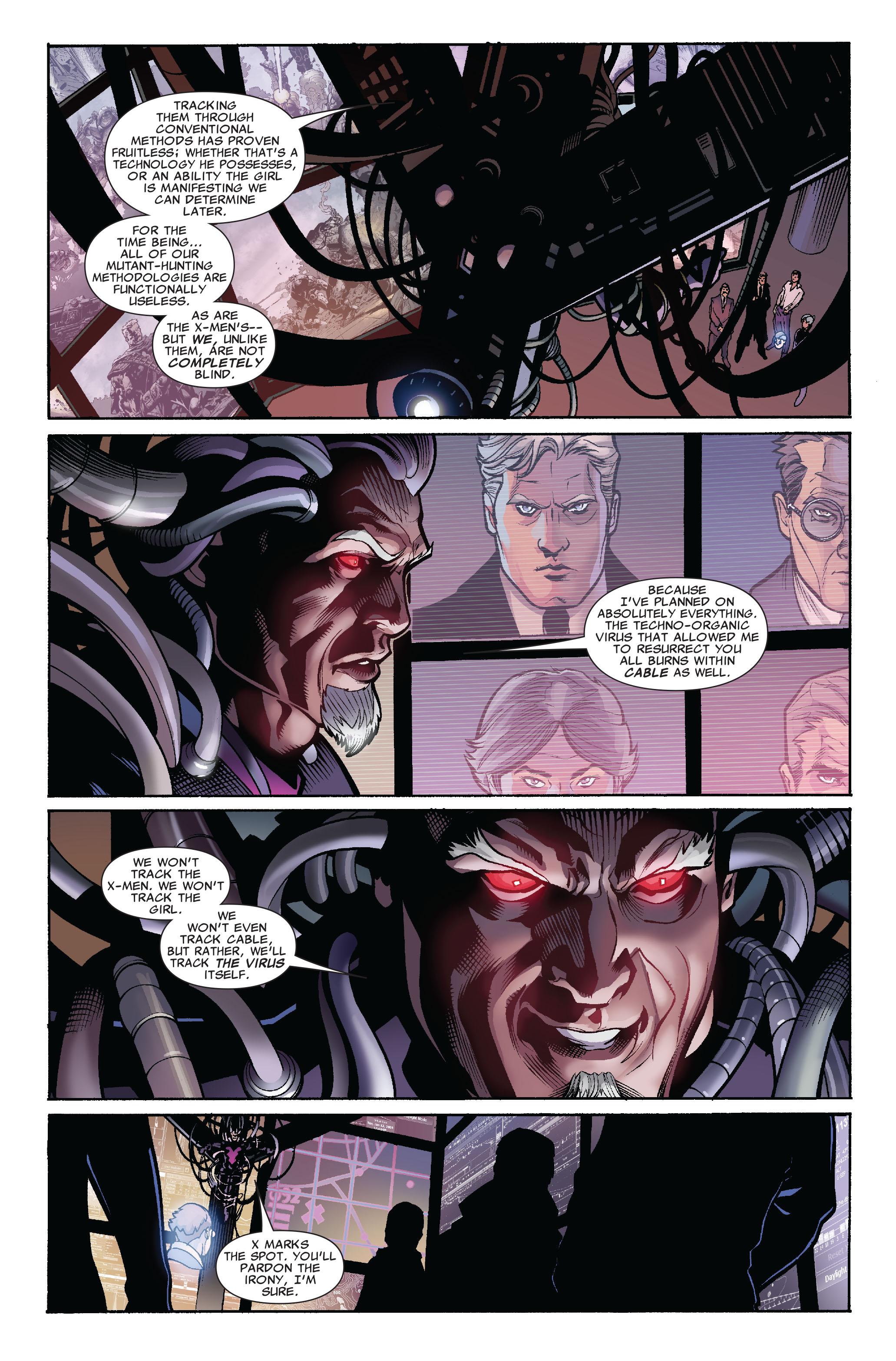 Read online Uncanny X-Men (1963) comic -  Issue #523 - 14